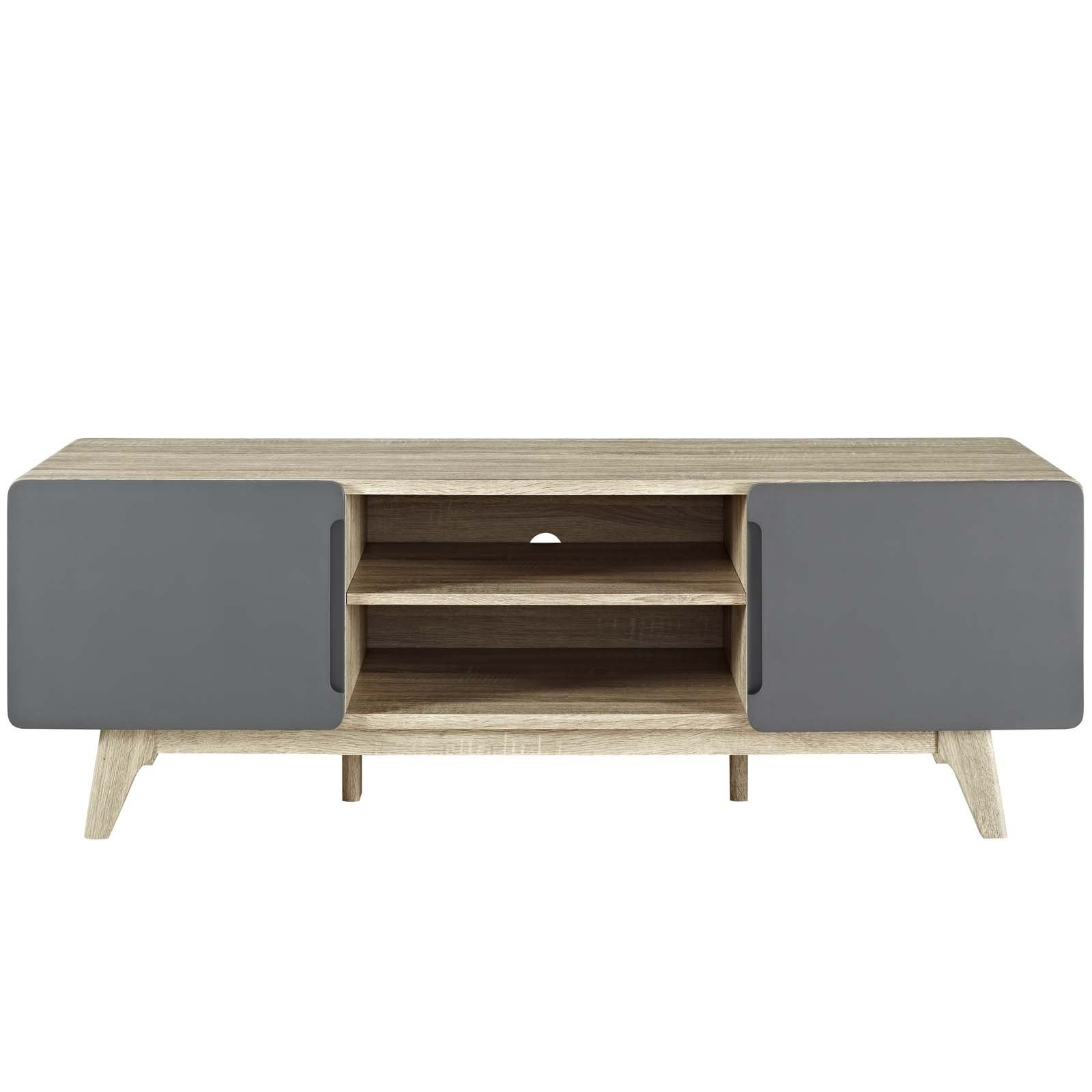 """Shop Tread 59"""" Tv Stand - 59 Inches - Free Shipping Today with regard to Rowan 45 Inch Tv Stands (Image 19 of 30)"""