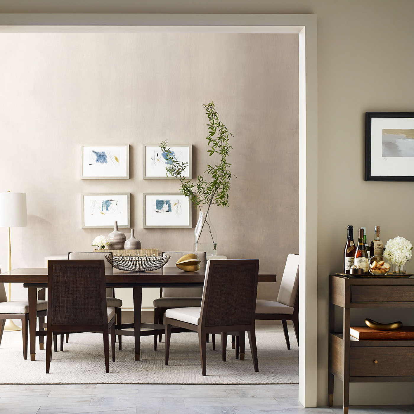 Side Chairs - Modern Dining Room Furniture & Accessories | Baker intended for Chari Media Center Tables (Image 21 of 30)