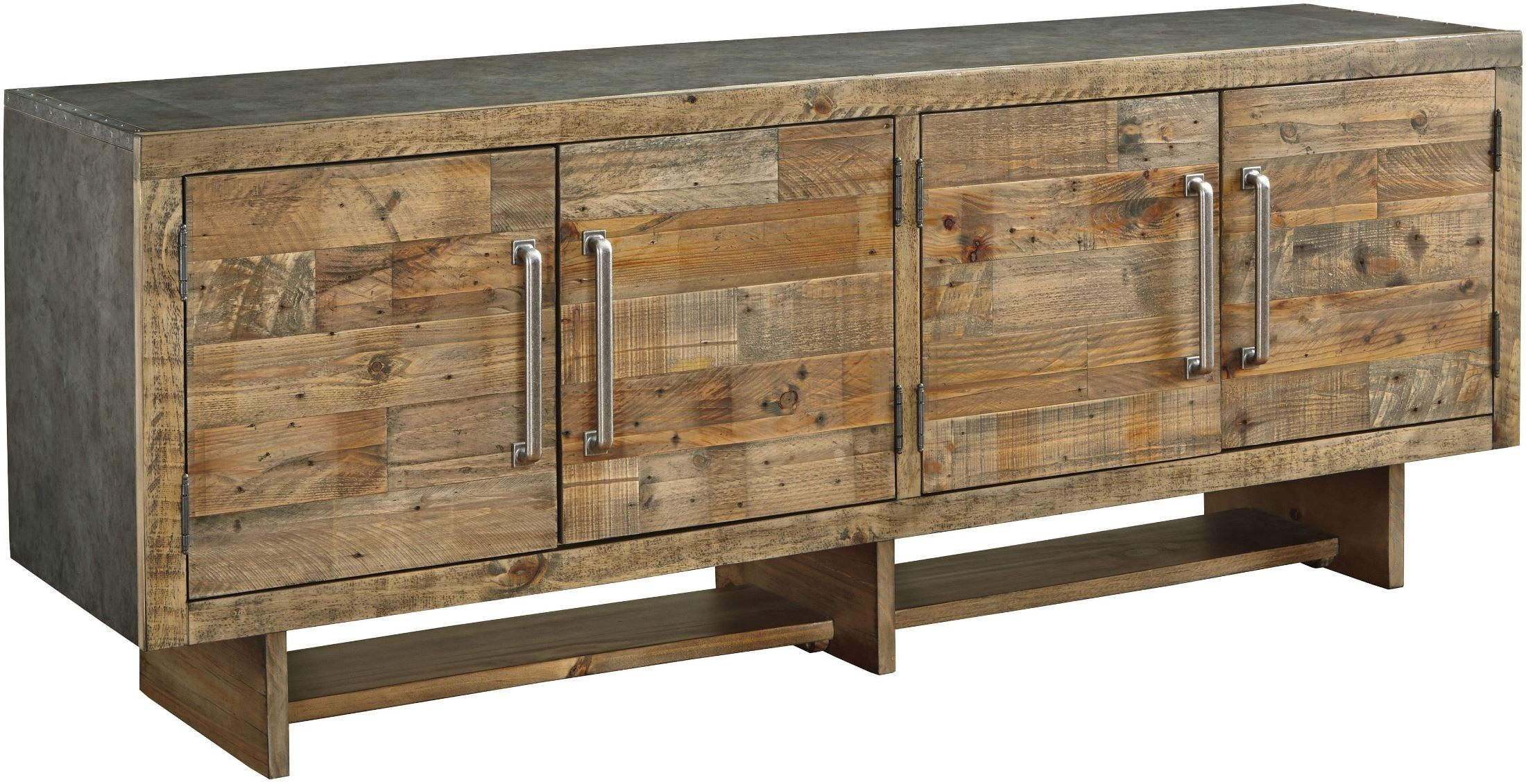 Signature Designashley Mozanburg Brown Extra Large Tv Stand Inside Vista 68 Inch Tv Stands (View 17 of 30)