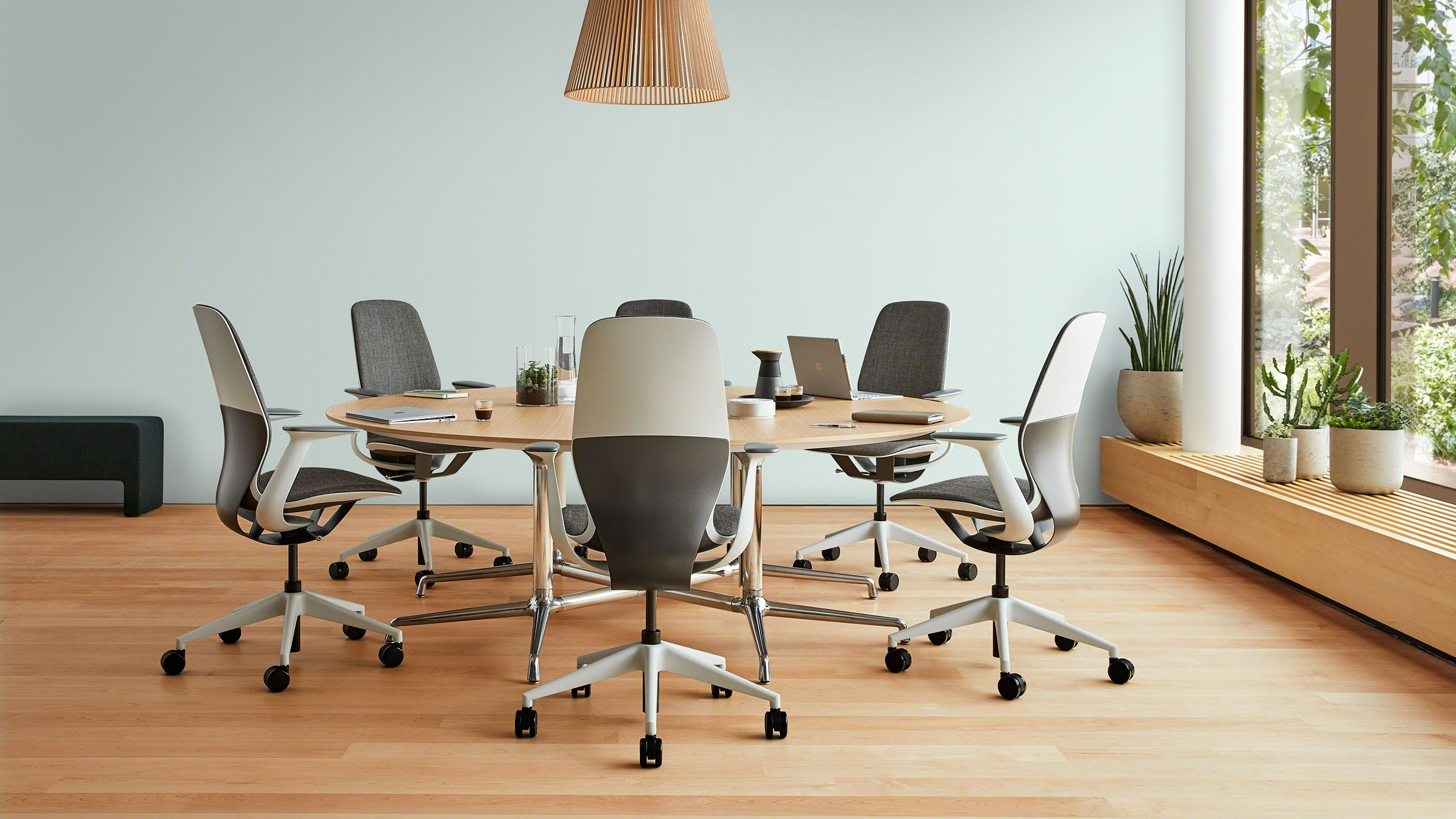Silq Innovative And Collaborative Chair | Steelcase for Chari Media Center Tables (Image 22 of 30)