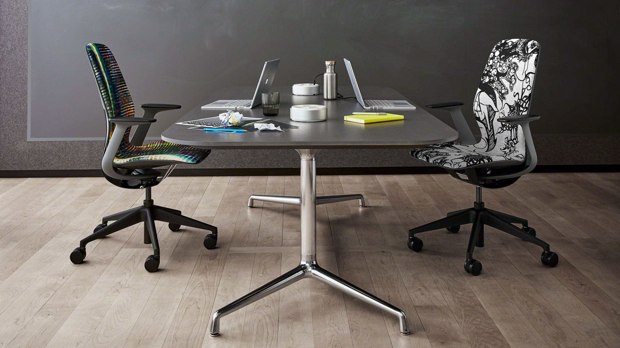 Silq Innovative And Collaborative Chair | Steelcase with regard to Chari Media Center Tables (Image 24 of 30)