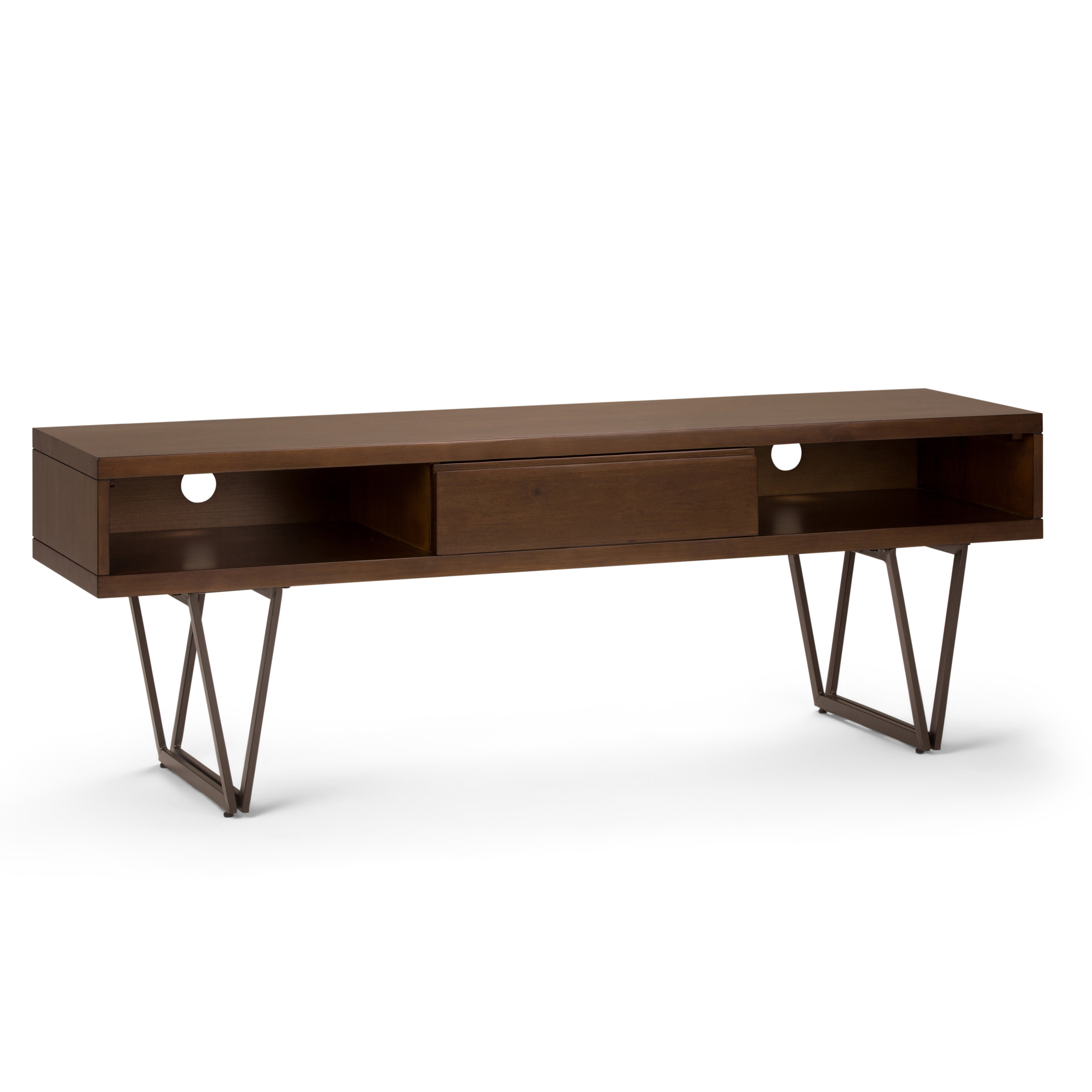 """Simpli Home Ryder Tv Stand For Tvs Up To 70"""" 