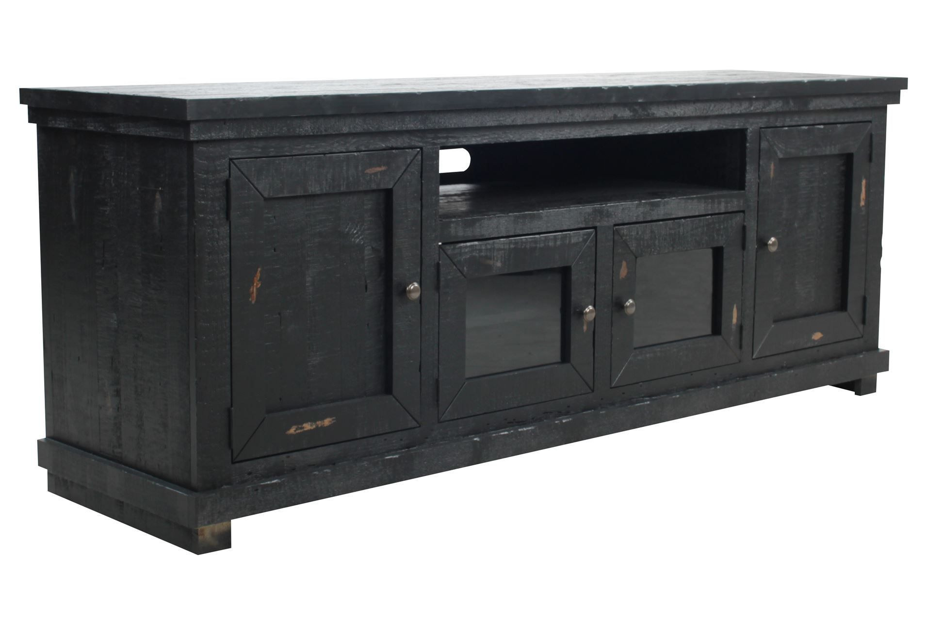 Sinclair Black 74 Inch Tv Console – Signature | Home Design With Regard To Sinclair White 74 Inch Tv Stands (View 8 of 30)