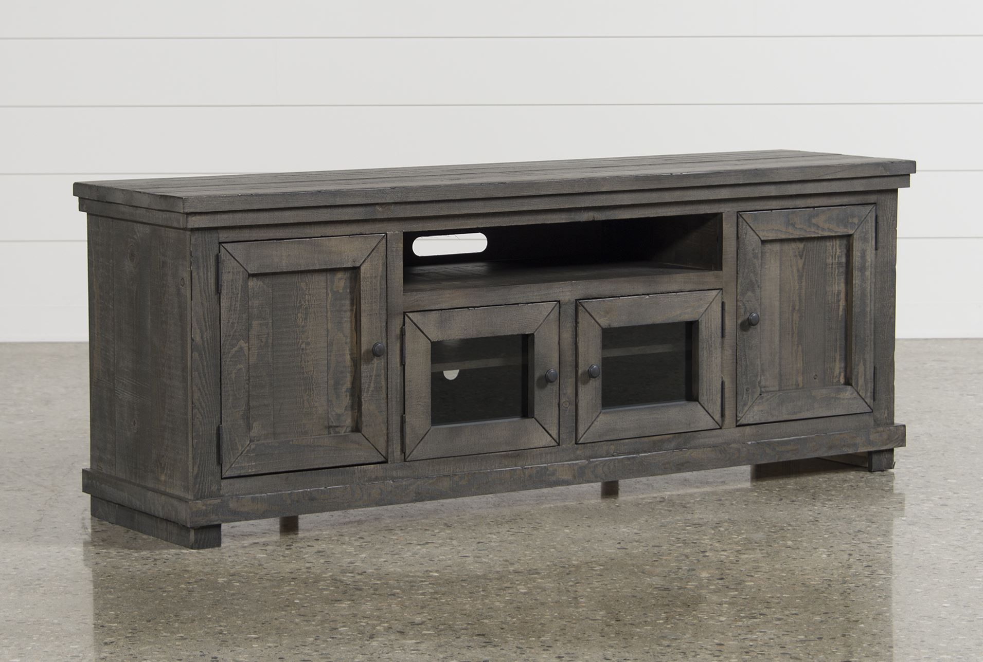 Sinclair Grey 74 Inch Tv Stand In 2018 | Furniture | Pinterest | Tvs With Wakefield 97 Inch Tv Stands (View 3 of 30)