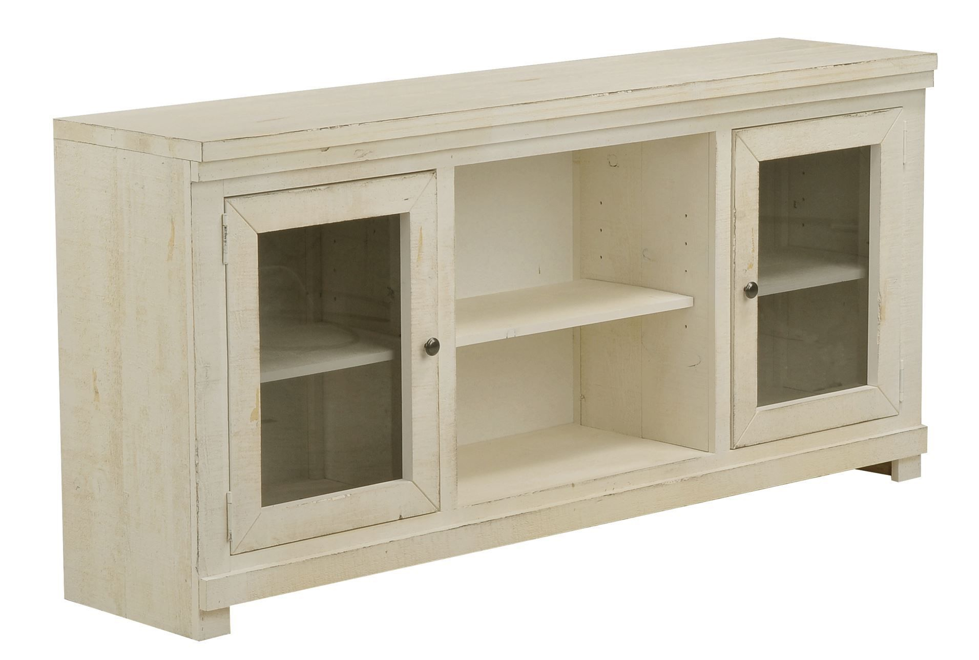 Sinclair White 68 Inch Tv Stand | For The Home | Living Room Designs Intended For Sinclair White 64 Inch Tv Stands (View 5 of 30)