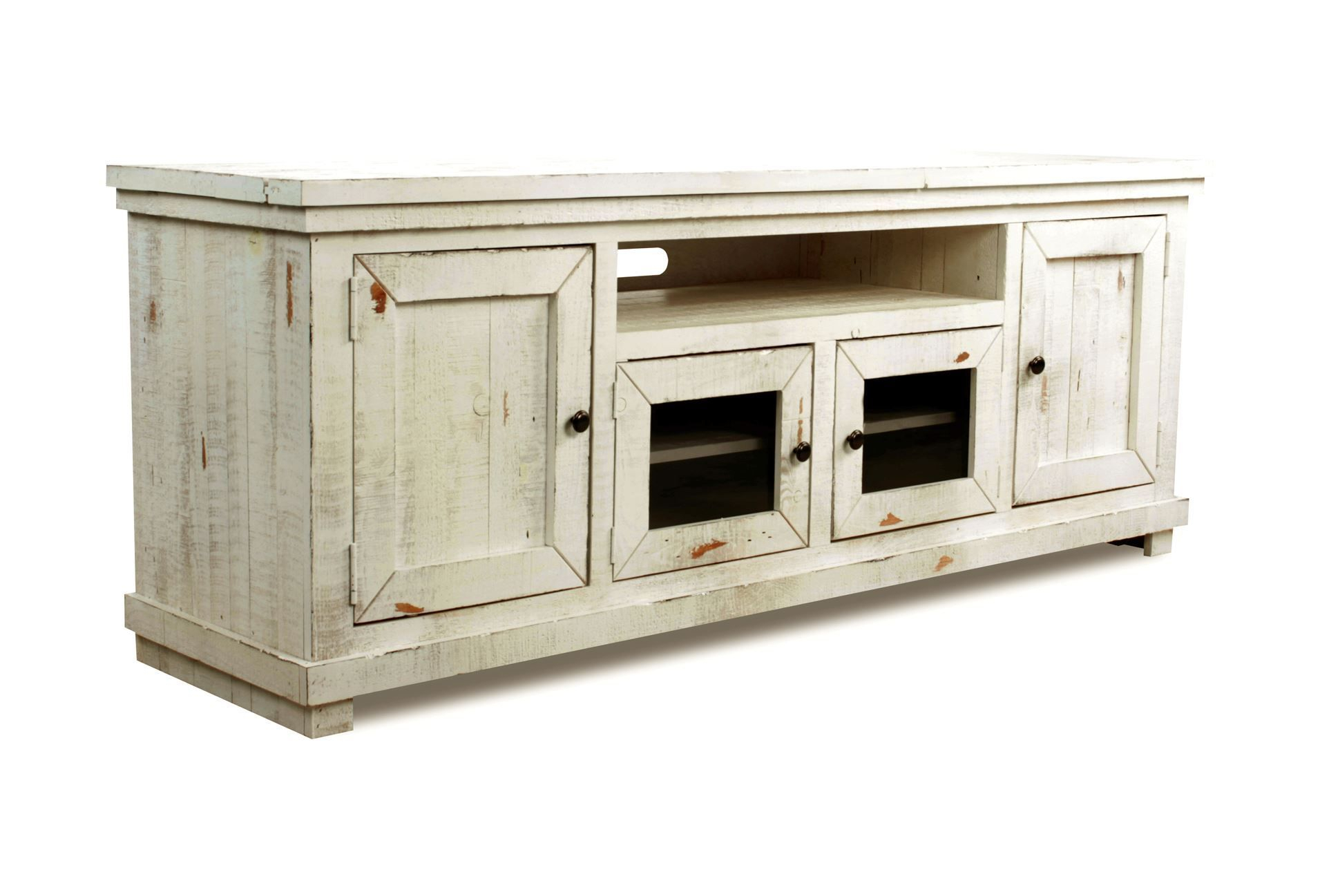 Sinclair White 74 Inch Tv Stand | Furniture Collection | Living Room With Ducar 64 Inch Tv Stands (View 9 of 30)