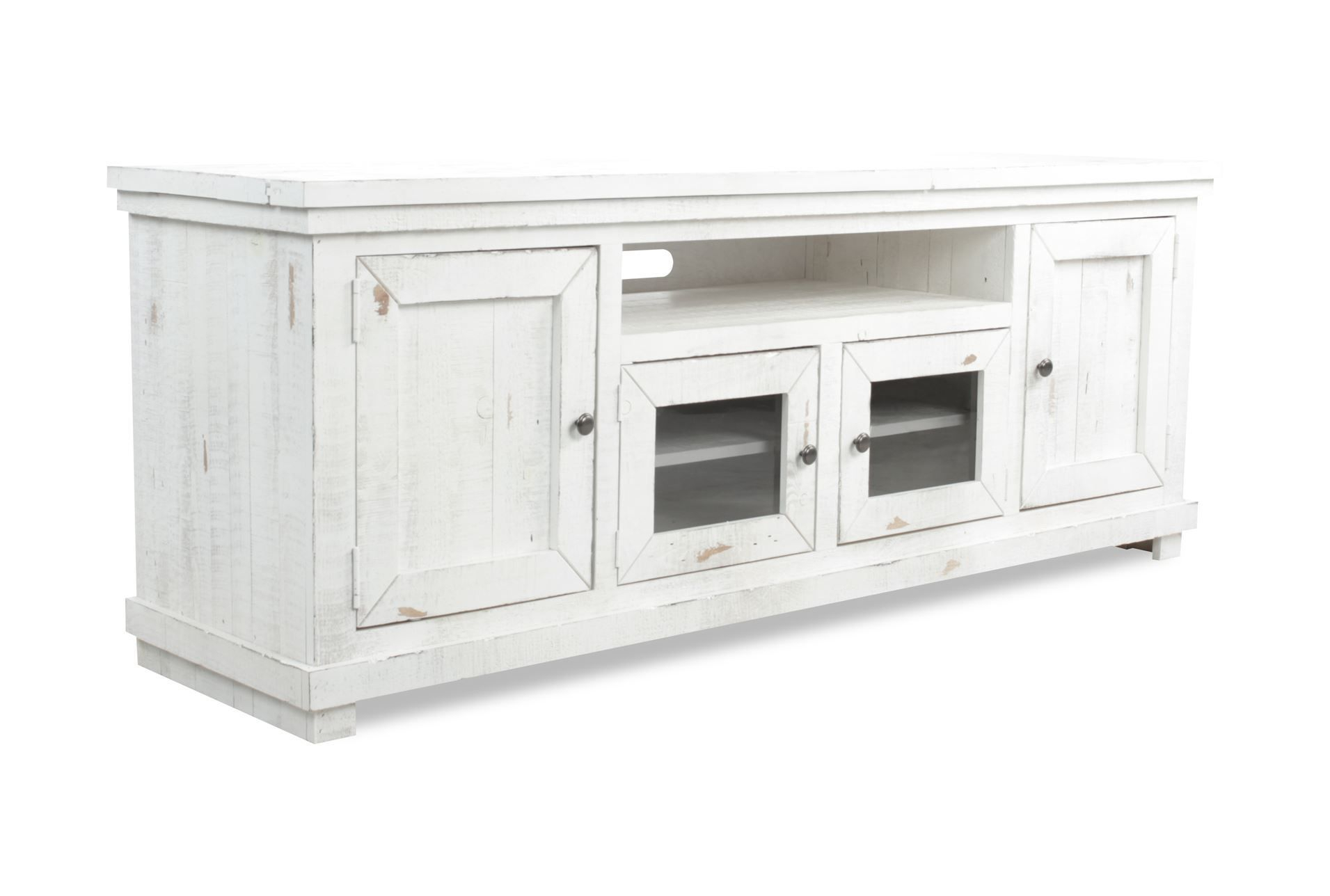 Sinclair White 74 Inch Tv Stand | Home Ideas | Pinterest | Living Intended For Sinclair White 64 Inch Tv Stands (View 24 of 30)