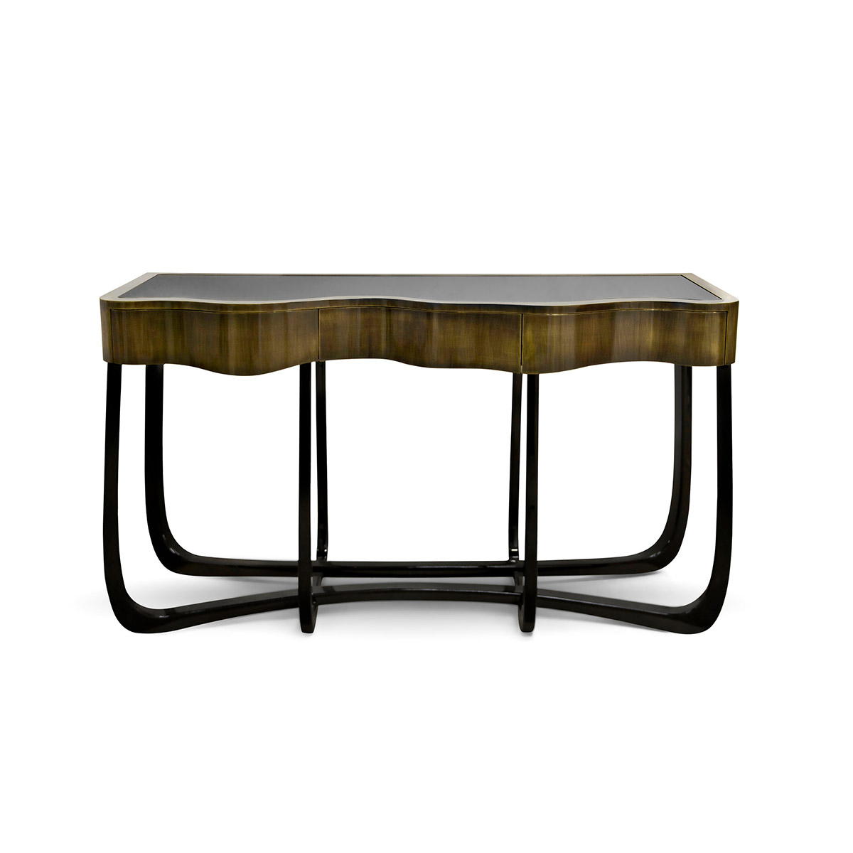 Sinuous Patina Console – René Sabino With Regard To Mix Patina Metal Frame Console Tables (View 12 of 30)