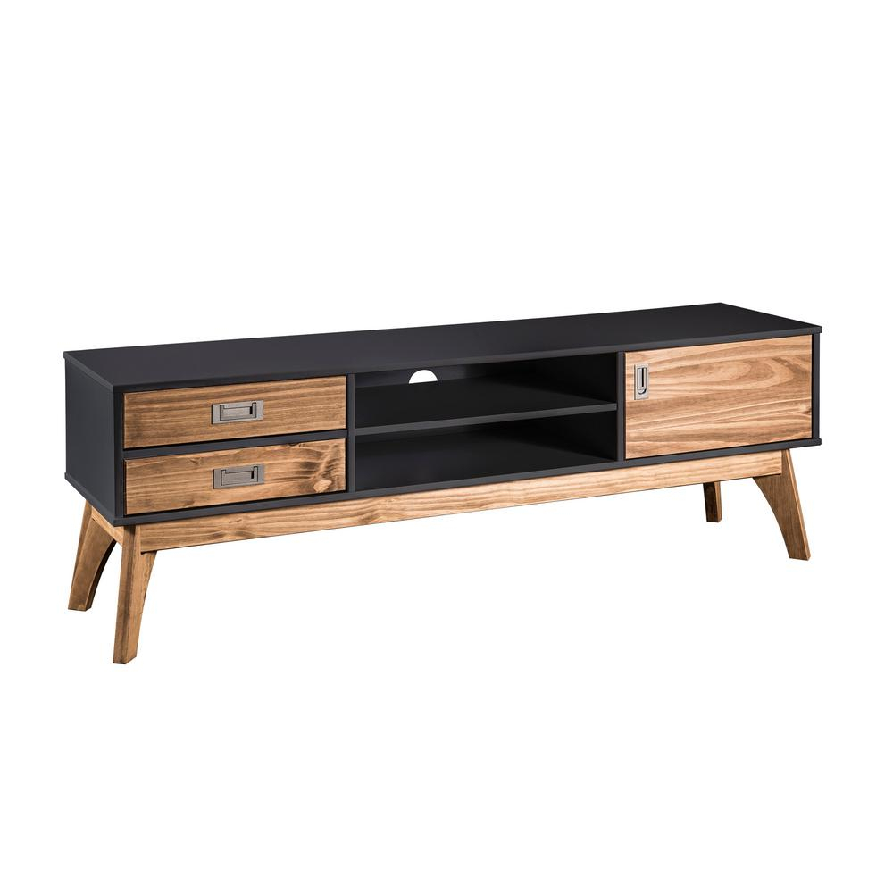 Small Solid Wood Media Console Wayfair Tv Stands Best Stand Floating regarding Natural Cane Media Console Tables (Image 26 of 30)