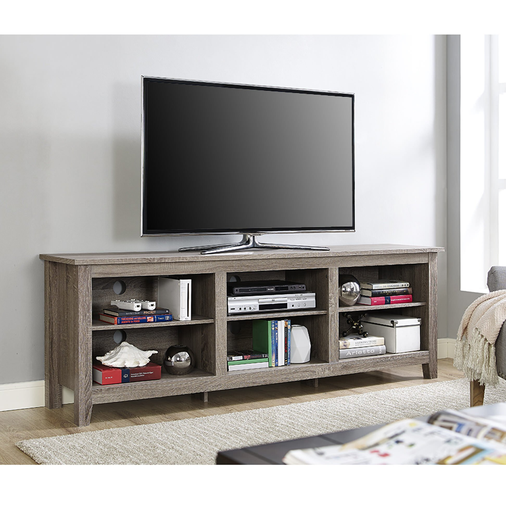 Smashing Image And Inch Tv Stand Inch Tv Stand Home Media Ideas To intended for Annabelle Blue 70 Inch Tv Stands (Image 15 of 30)