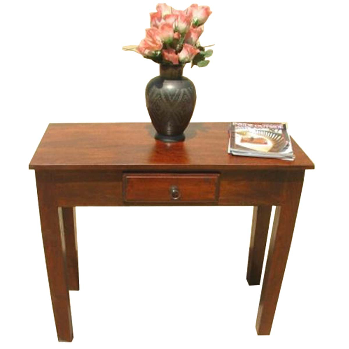 Solid Wood Entry Sofa Hall Console Foyer Table Barnwood Console Table with Yukon Grey Console Tables (Image 24 of 30)