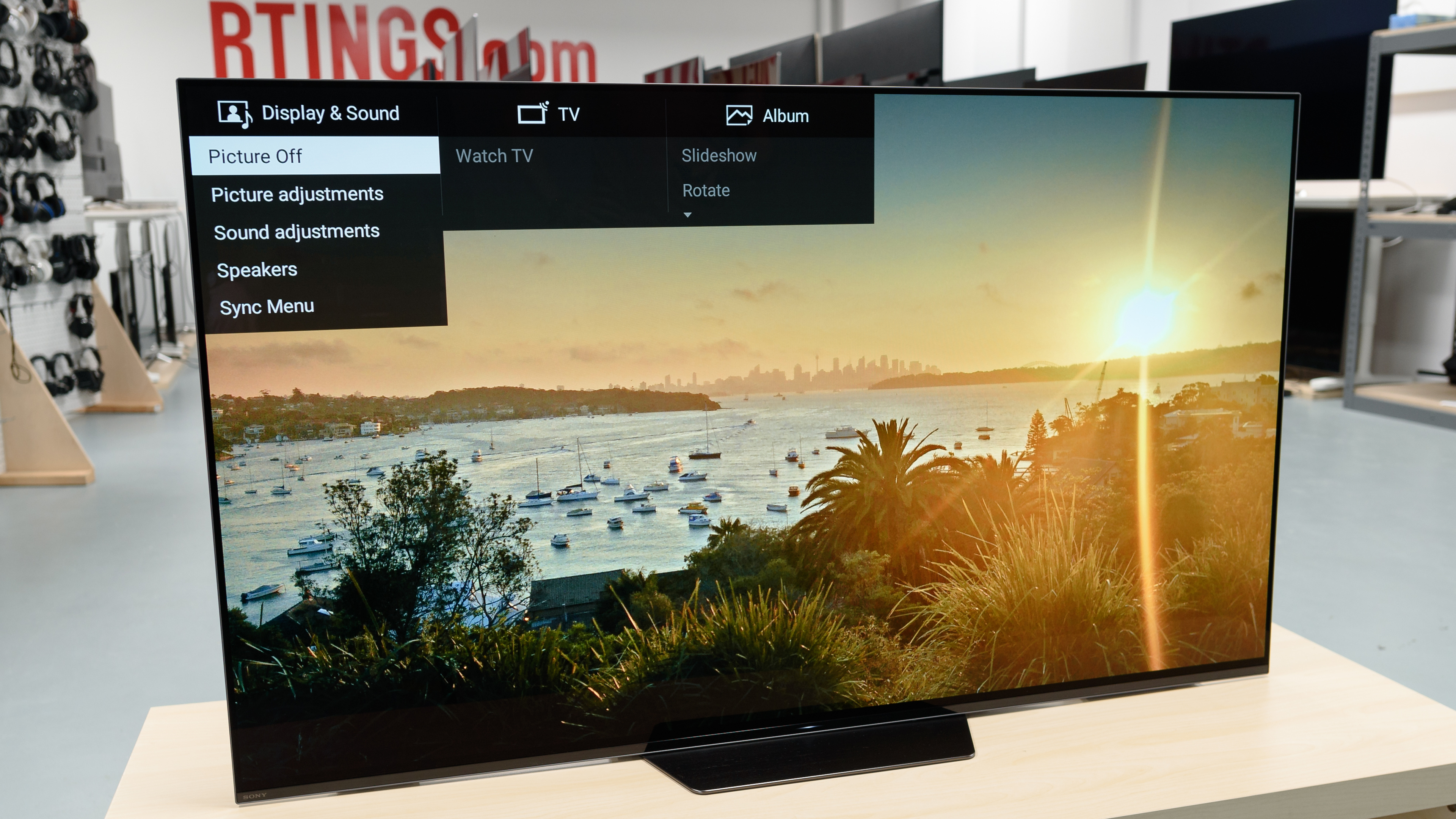 Sony A8F Review (Xbr55A8F, Xbr65A8F) - Rtings pertaining to Caden 63 Inch Tv Stands (Image 19 of 30)