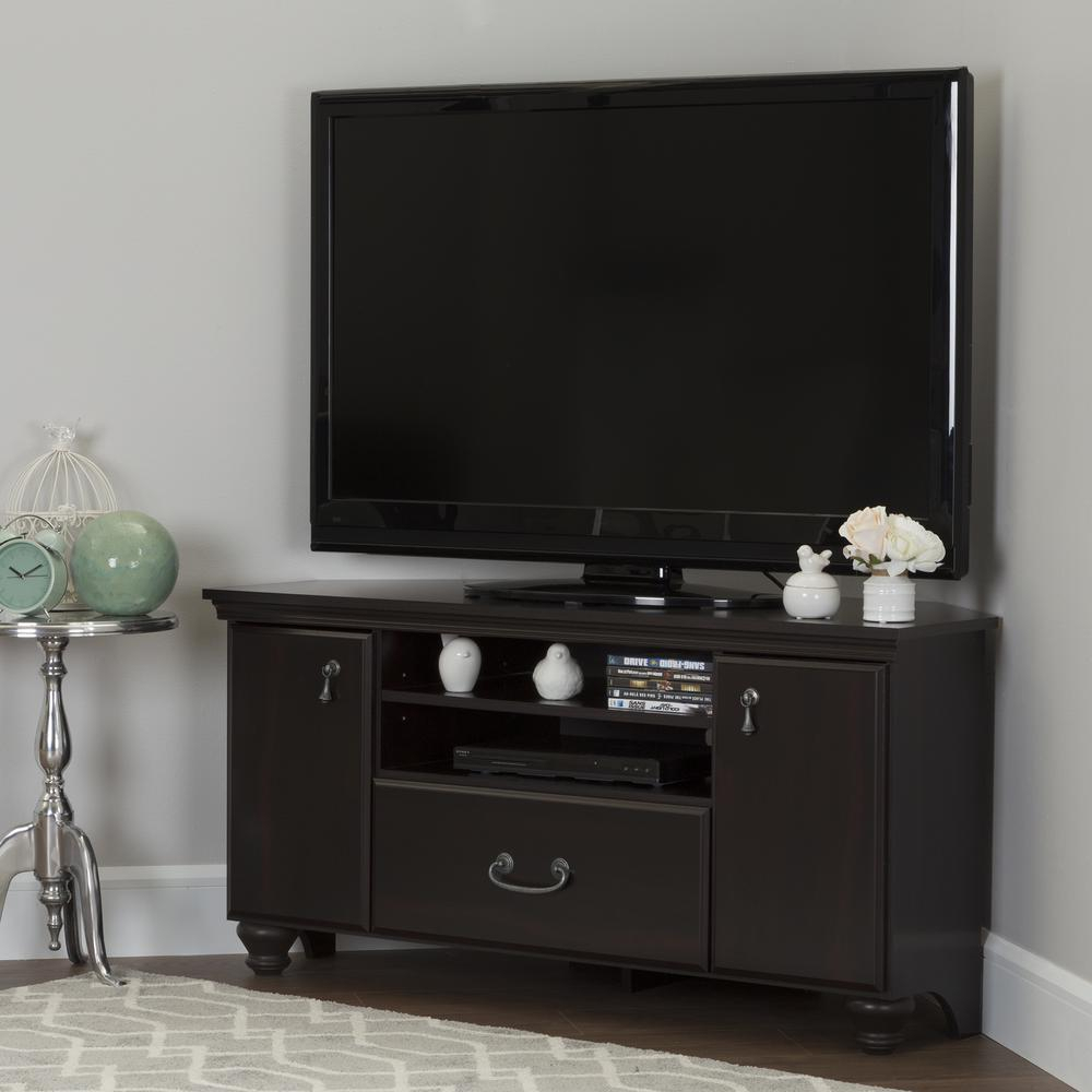South Shore Noble Gray Maple Storage Entertainment Center 10381 With Casey Grey 54 Inch Tv Stands (View 30 of 30)