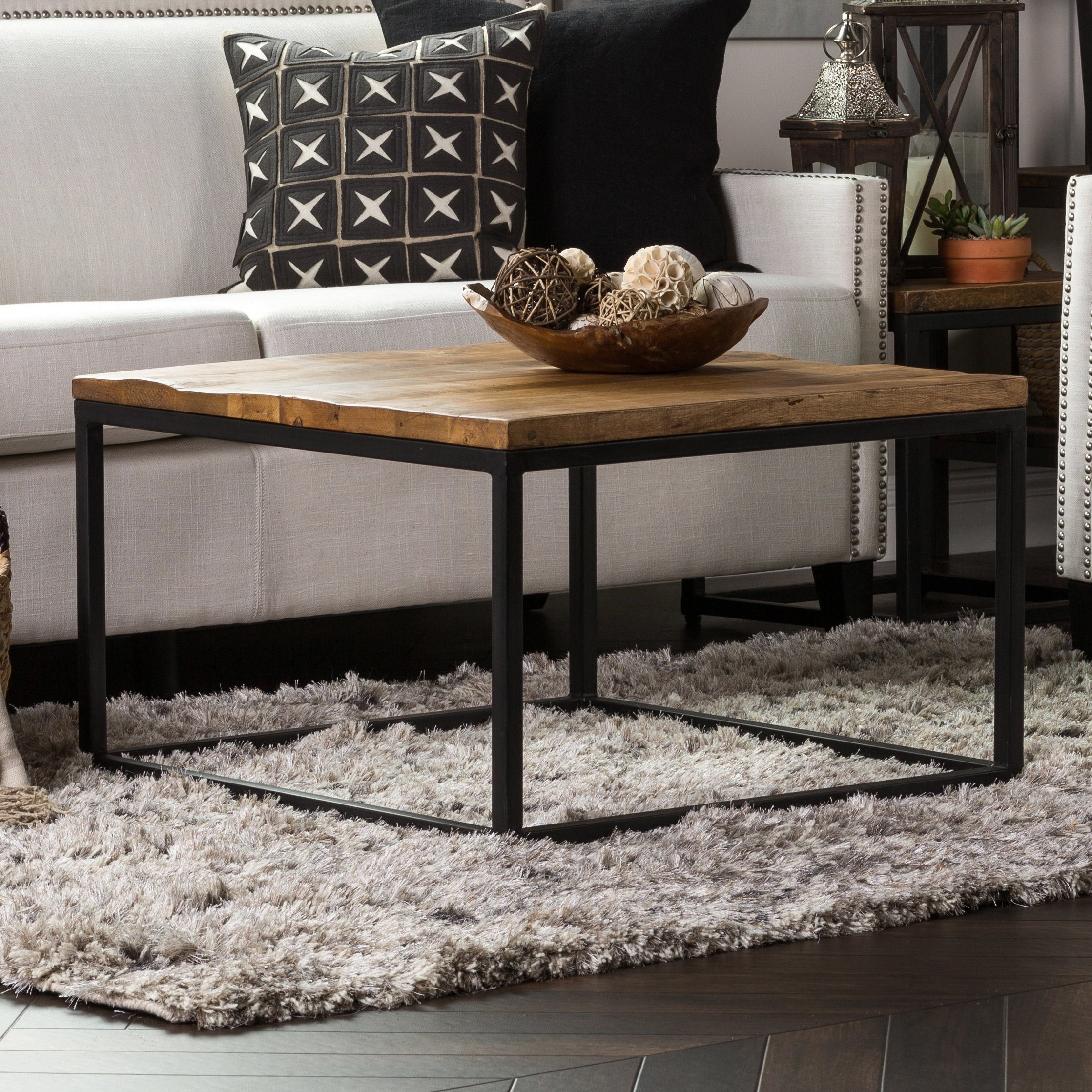 Square Coffee Tables You'll Love | Wayfair Intended For Layered Wood Small Square Console Tables (View 23 of 30)