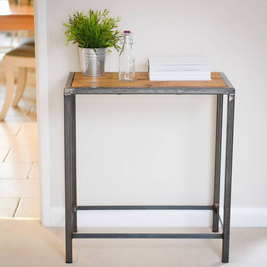 Steel Console Table Decor : Console Table – Why Not A Steel Console Throughout Silviano 84 Inch Console Tables (View 26 of 30)
