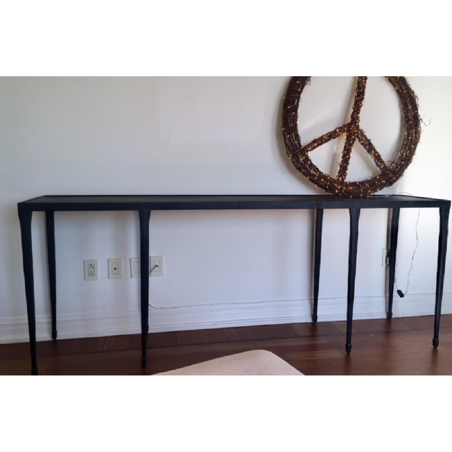 Steel Console Table Design : Console Table – Why Not A Steel Console Regarding Silviano 84 Inch Console Tables (View 27 of 30)