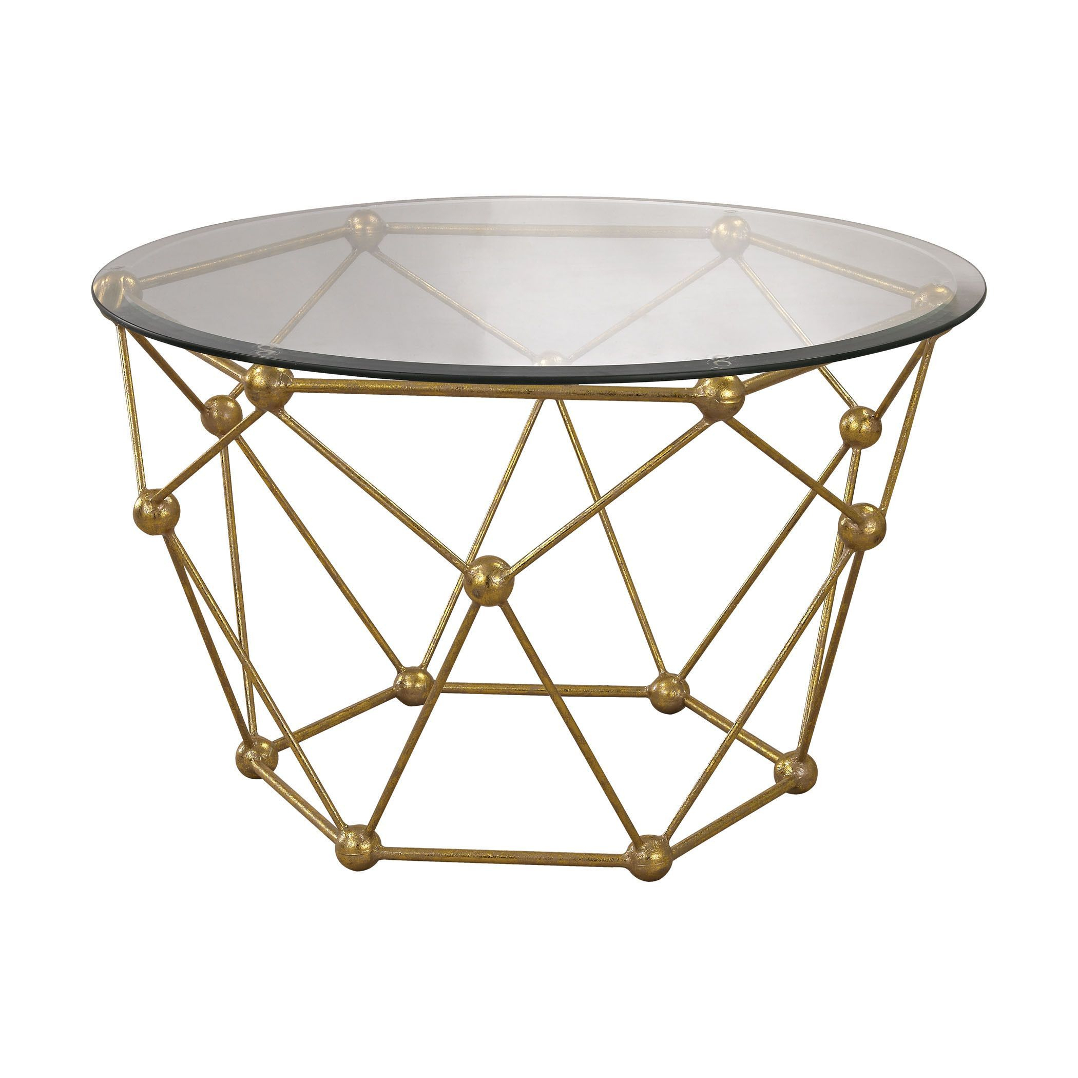 Sterling Molecular Accent Table | Dinning / Living Room | Pinterest Intended For Elke Marble Console Tables With Polished Aluminum Base (View 20 of 30)