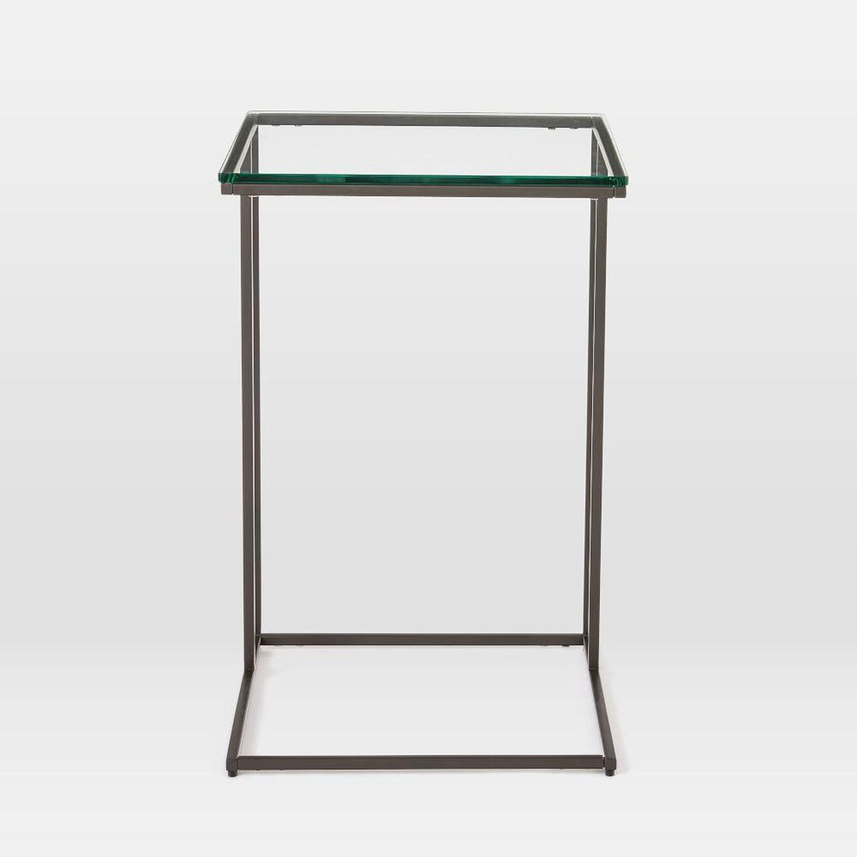 Streamline C Side Table – Glass | Living Room | Pinterest | Glass Throughout Elke Glass Console Tables With Brass Base (View 6 of 30)