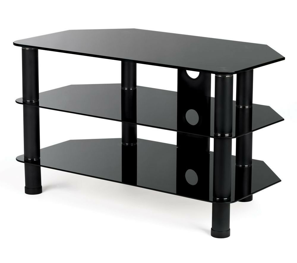 Stylish Black Serano S800Bg11 Tv Stand | In Walton On Thames, Surrey Pertaining To Walton Grey 60 Inch Tv Stands (View 12 of 30)