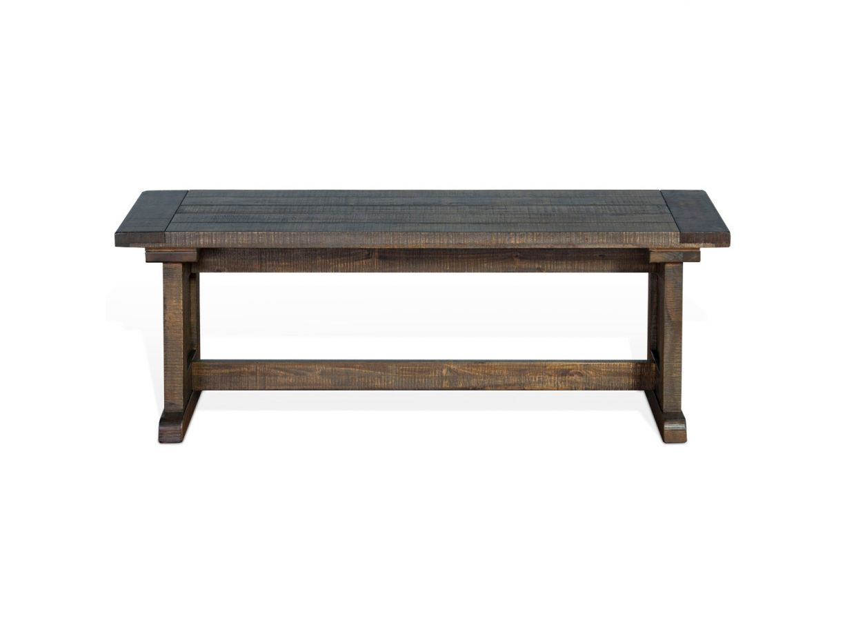 Sunny Designs Homestead Breakfast Nook Set In Tobacco Leaf 0113tl Regarding Balboa Carved Console Tables (View 24 of 30)