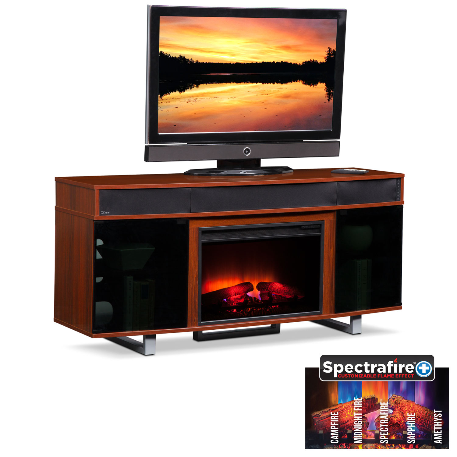 T V Stands & Media Centers   Value City In Preston 66 Inch Tv Stands (View 3 of 28)