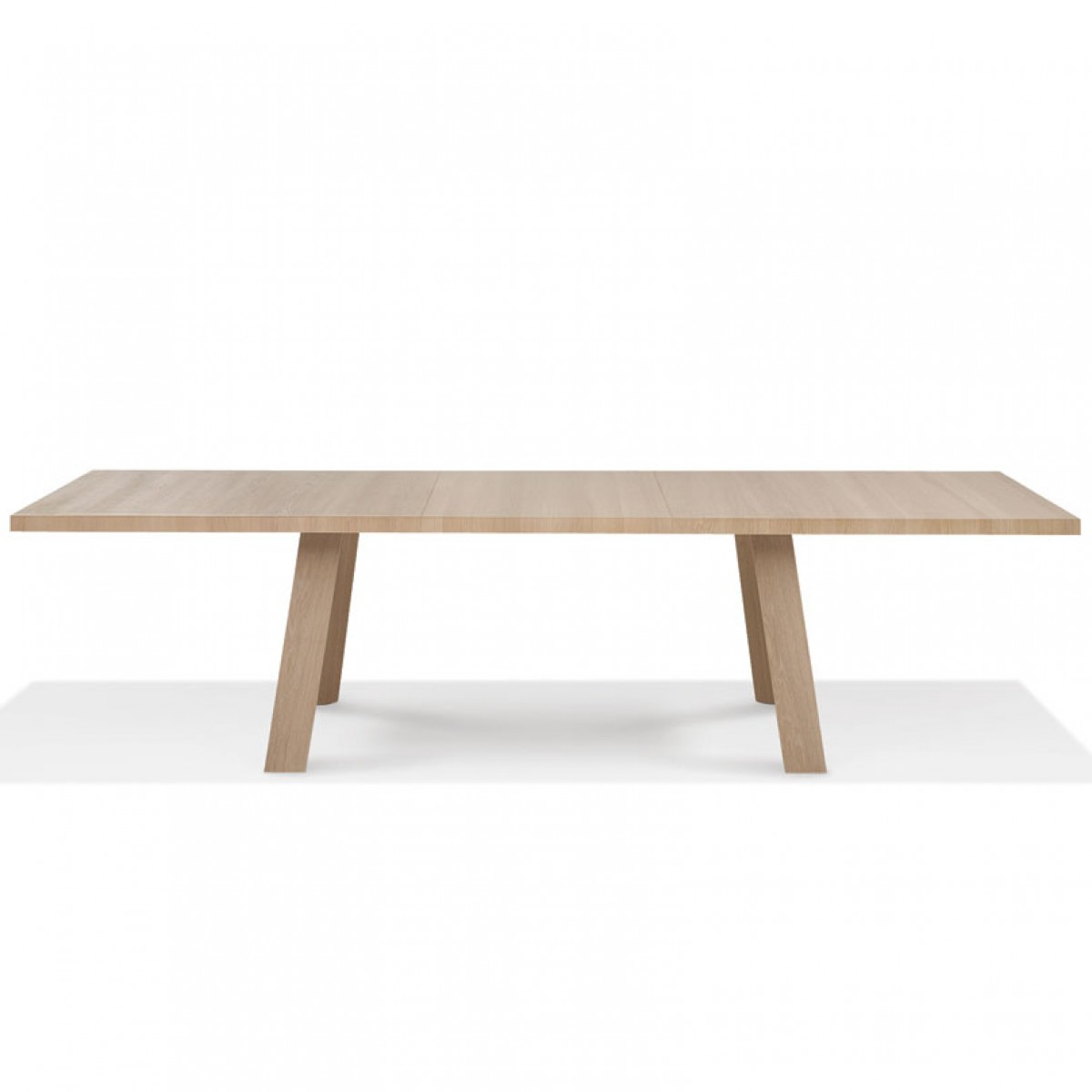 Tadeo Large Extending Table in Walters Media Console Tables (Image 23 of 30)