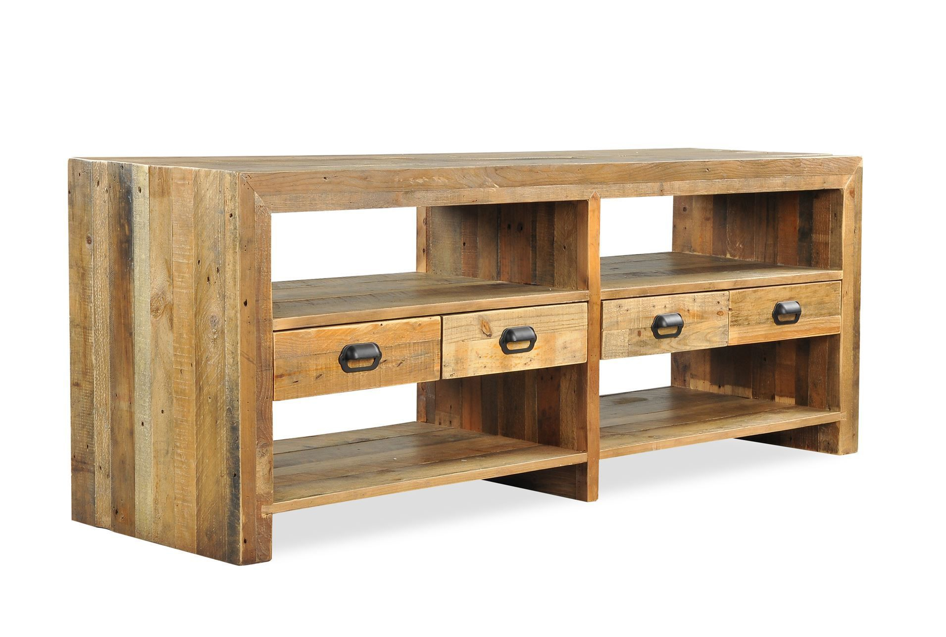 Tahoe Ii 70 Inch Tv Console - Signature Displayed At Living Spaces with Sinclair White 64 Inch Tv Stands (Image 25 of 30)