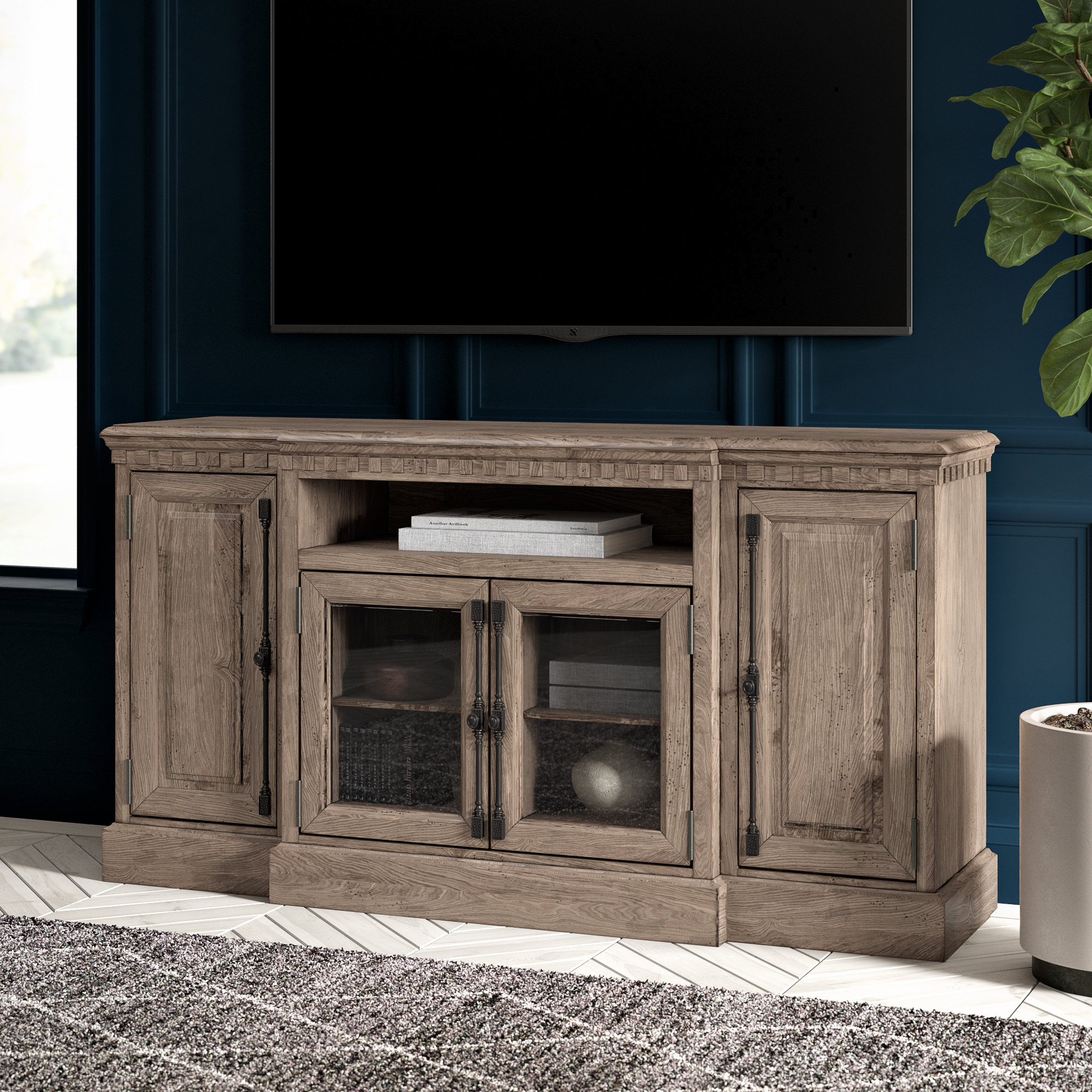 Tall (33 Inches And Larger) Tv Stands You'll Love | Wayfair.ca in Wyatt 68 Inch Tv Stands (Image 18 of 30)