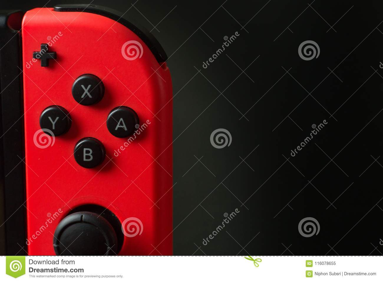 Thailand , Bangkok - May 7, 2018 Nintendo Switch Game Console On with regard to Switch Console Tables (Image 27 of 30)