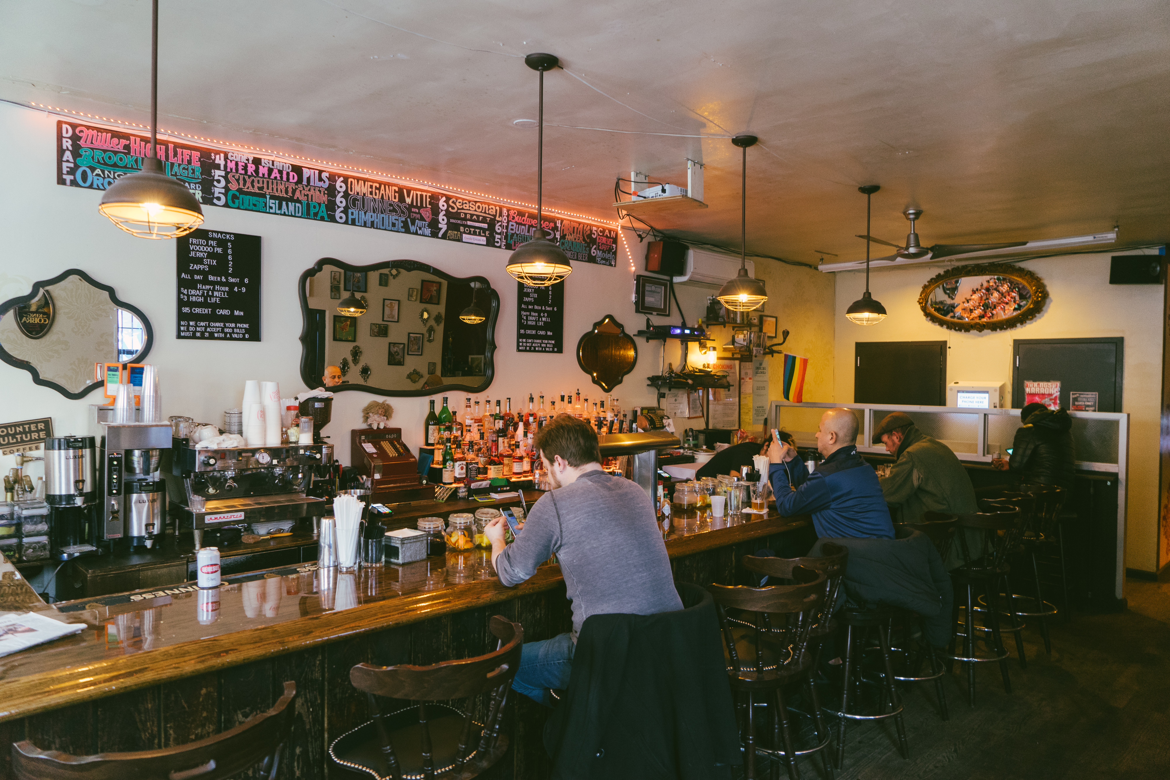 The Best Bars In Bushwick - Bushwick - New York - The Infatuation pertaining to Noah Aged Whiskey 66 Inch Tv Stands (Image 27 of 30)