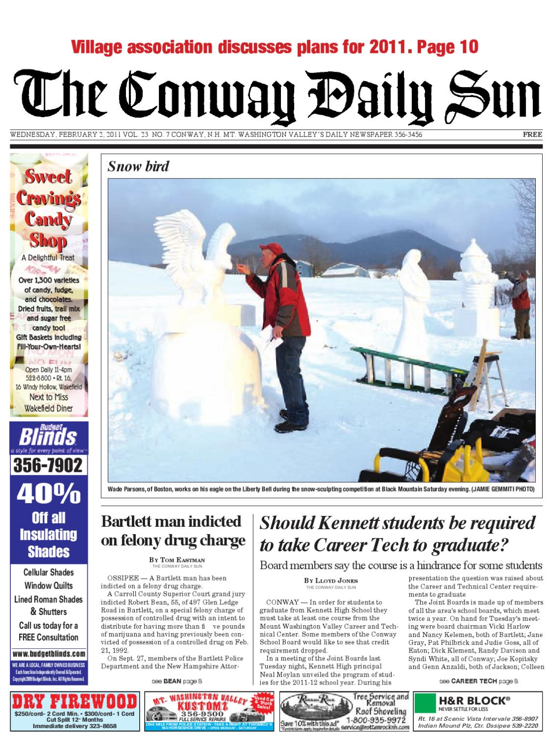 The Conway Daily Sun, Wednesday, February 2, 2011daily Sun – Issuu Intended For Wakefield 67 Inch Tv Stands (View 20 of 30)