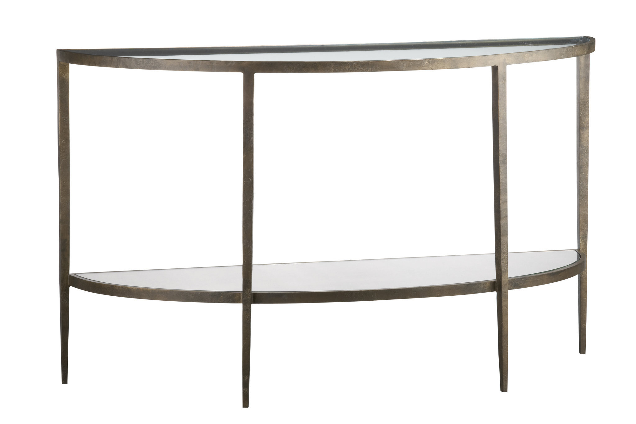 Three Demilune Tables, Three Prices | Oregonlive Pertaining To Clairemont Demilune Console Tables (View 26 of 30)