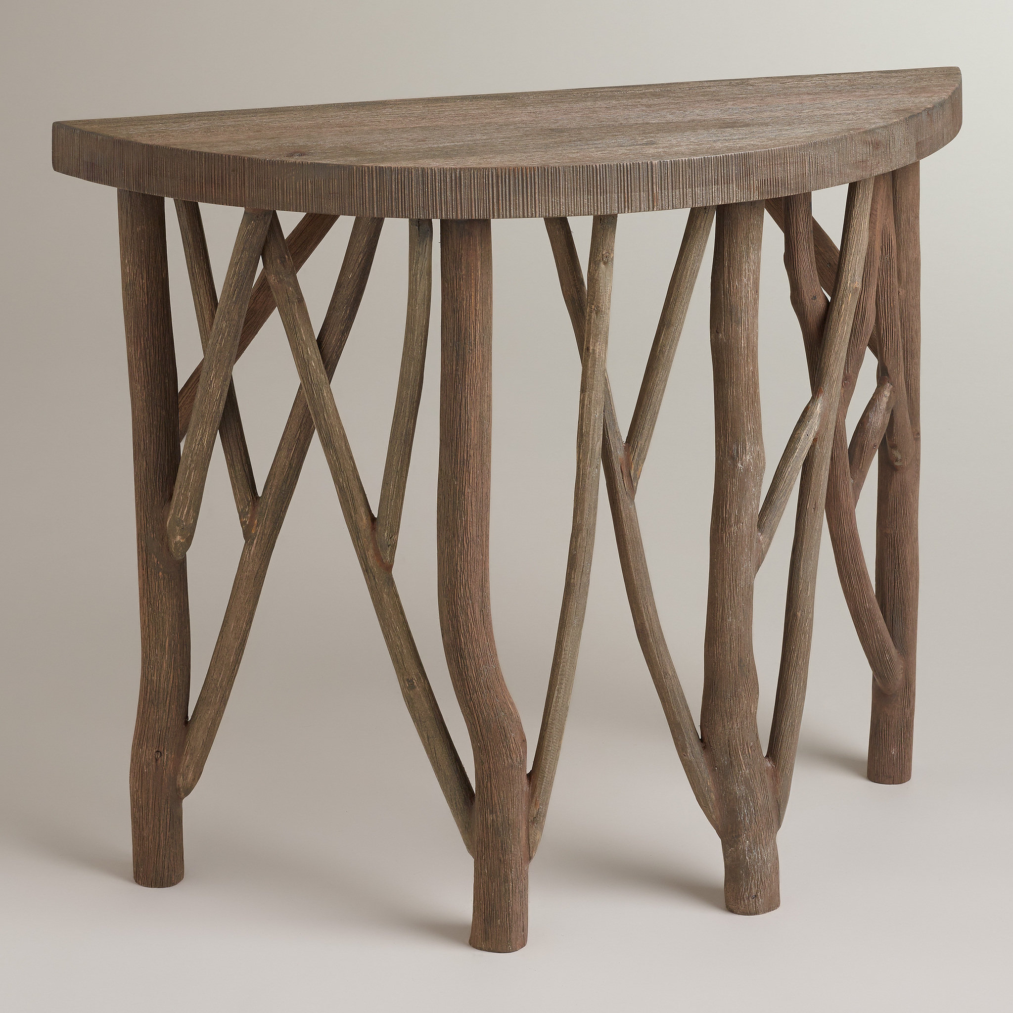 Three Demilune Tables, Three Prices | Oregonlive With Regard To Clairemont Demilune Console Tables (View 27 of 30)