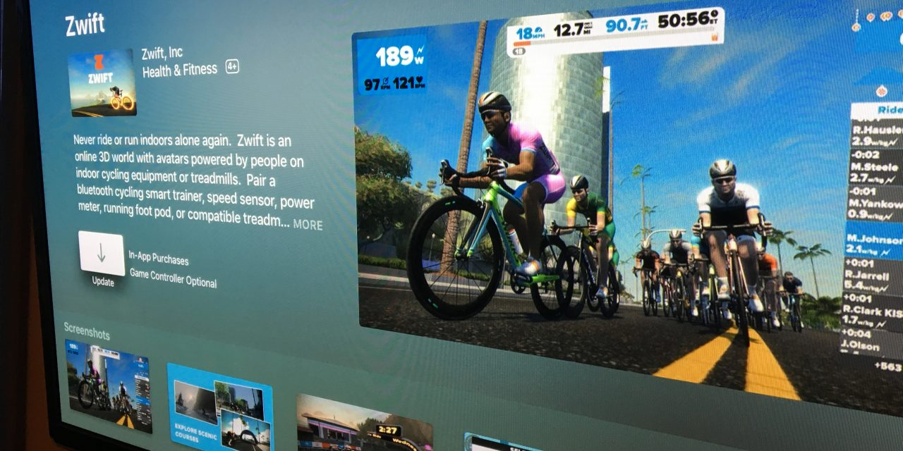 Tips And Tricks For Zwift On Apple Tv | Zwift Insider with regard to Caden 63 Inch Tv Stands (Image 24 of 30)