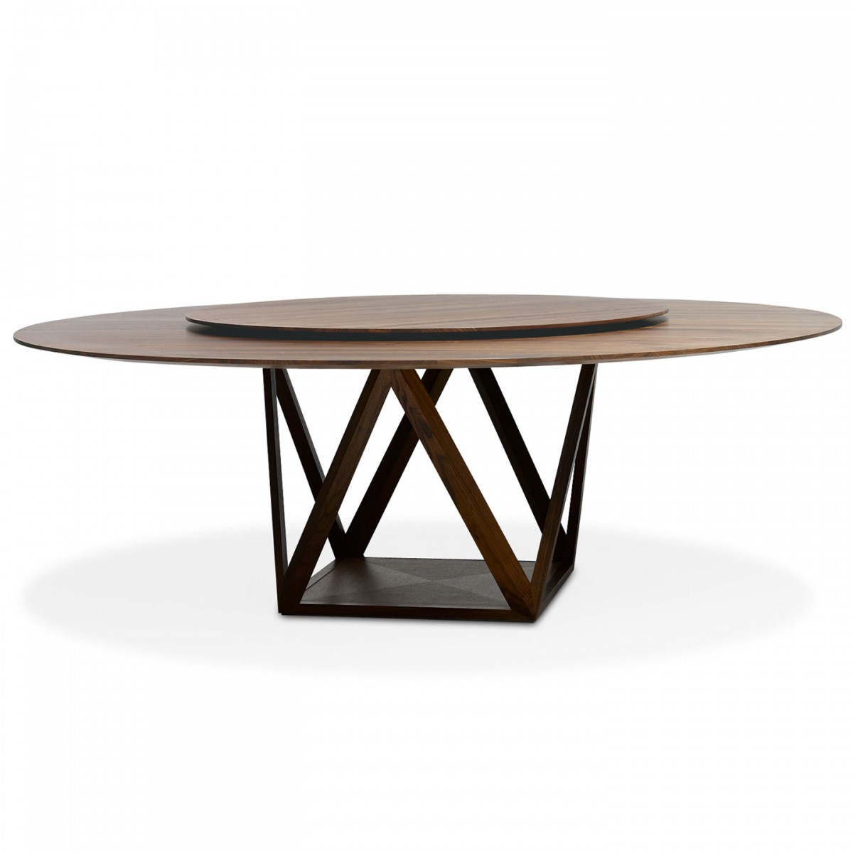 Tobu Round Table with Walters Media Console Tables (Image 25 of 30)