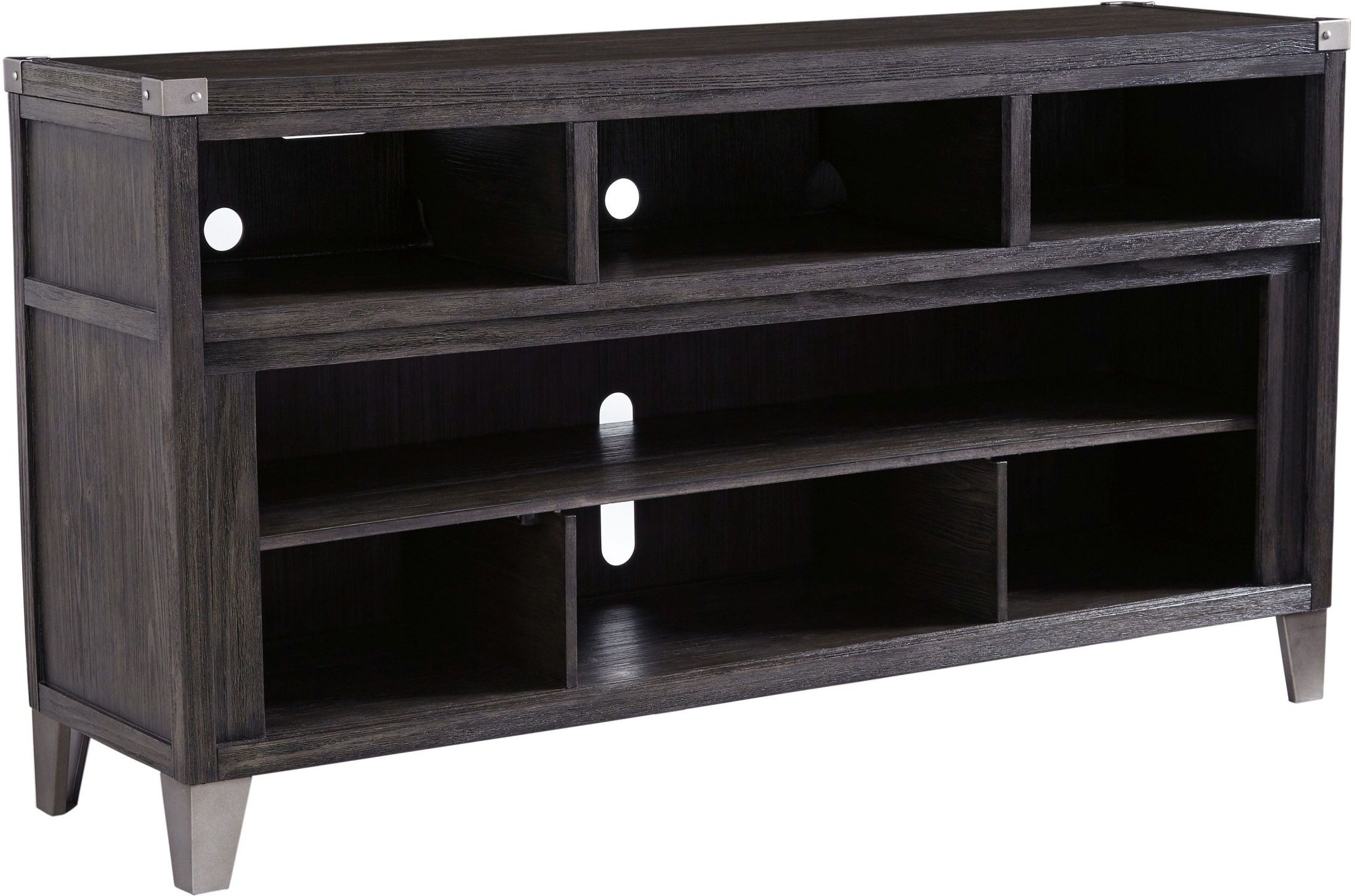 Todoe Gray Lg Tv Stand From Ashley | Coleman Furniture Within Vista 68 Inch Tv Stands (View 7 of 30)