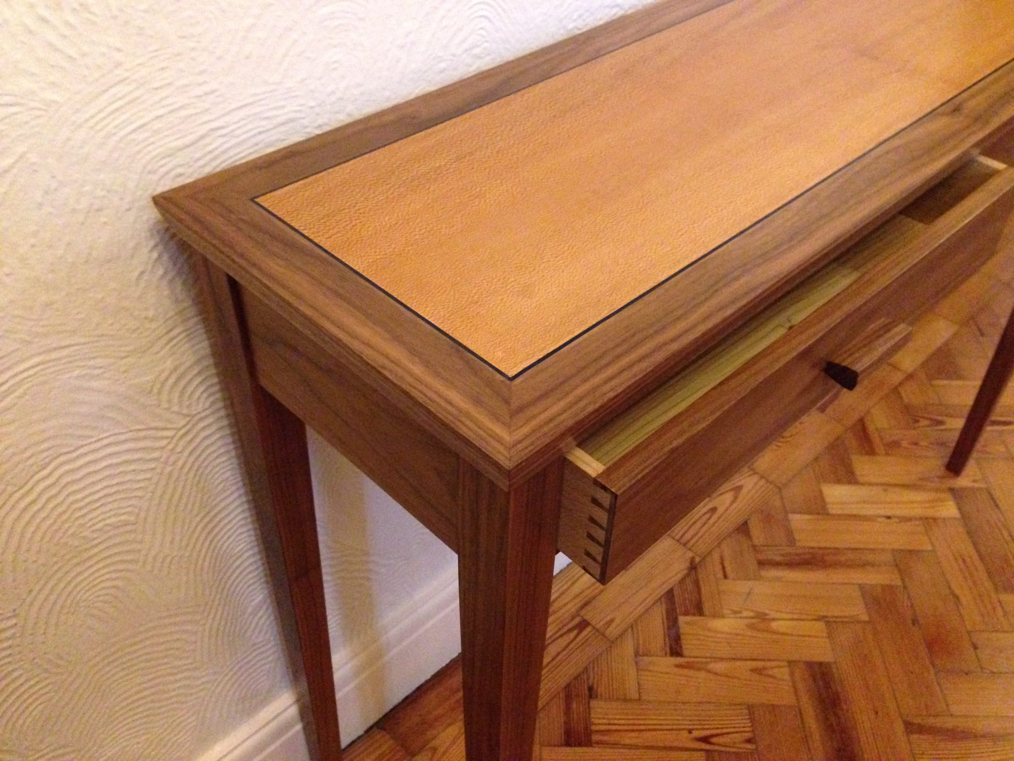 Tony Bramwell Console Table With Two Drawers (View 29 of 30)
