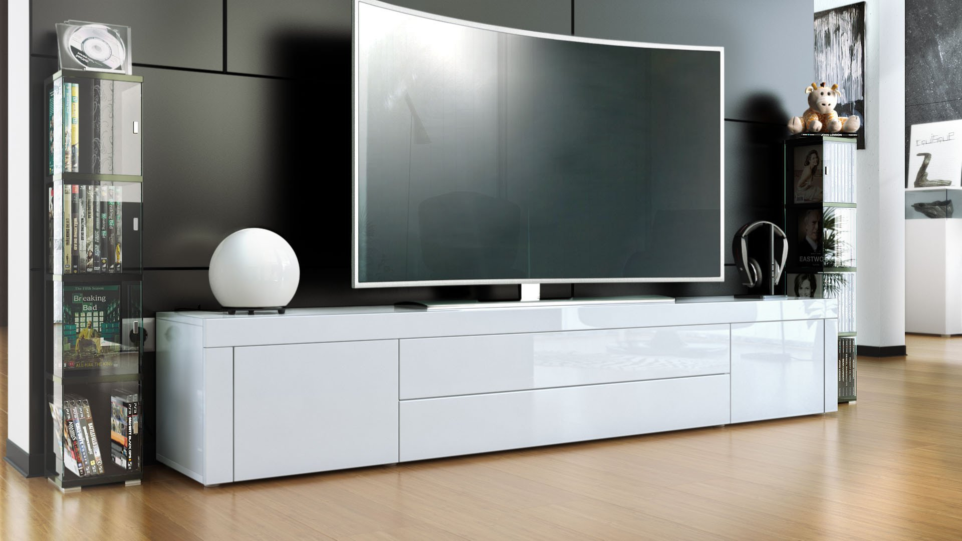 Top 3 Best Entertainment Centers And Tv Stands For A 70-Inch Tv within Oxford 70 Inch Tv Stands (Image 22 of 30)