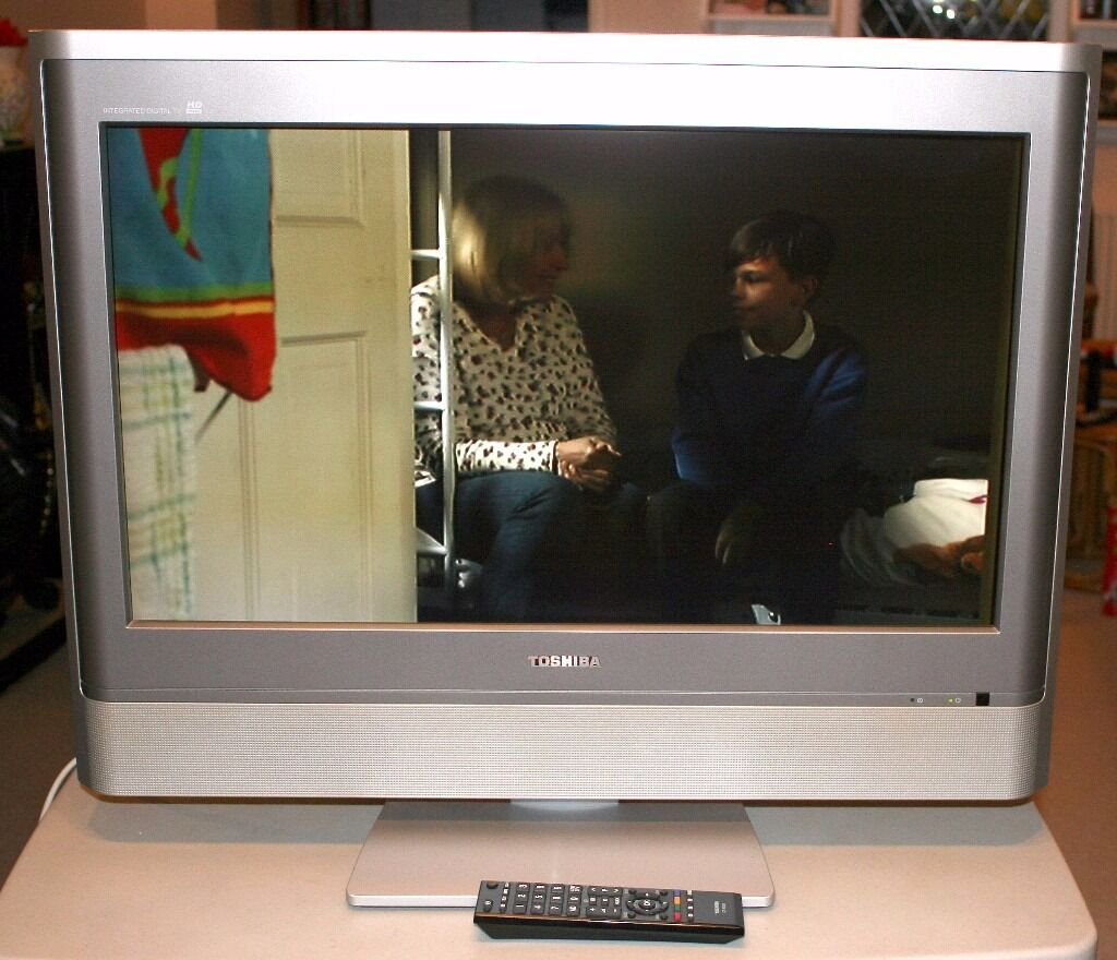 Toshiba 27Wlt56B 27 Inch Hd Ready Lcd Tv W/ Freeview | In Wakefield for Wakefield 85 Inch Tv Stands (Image 27 of 30)
