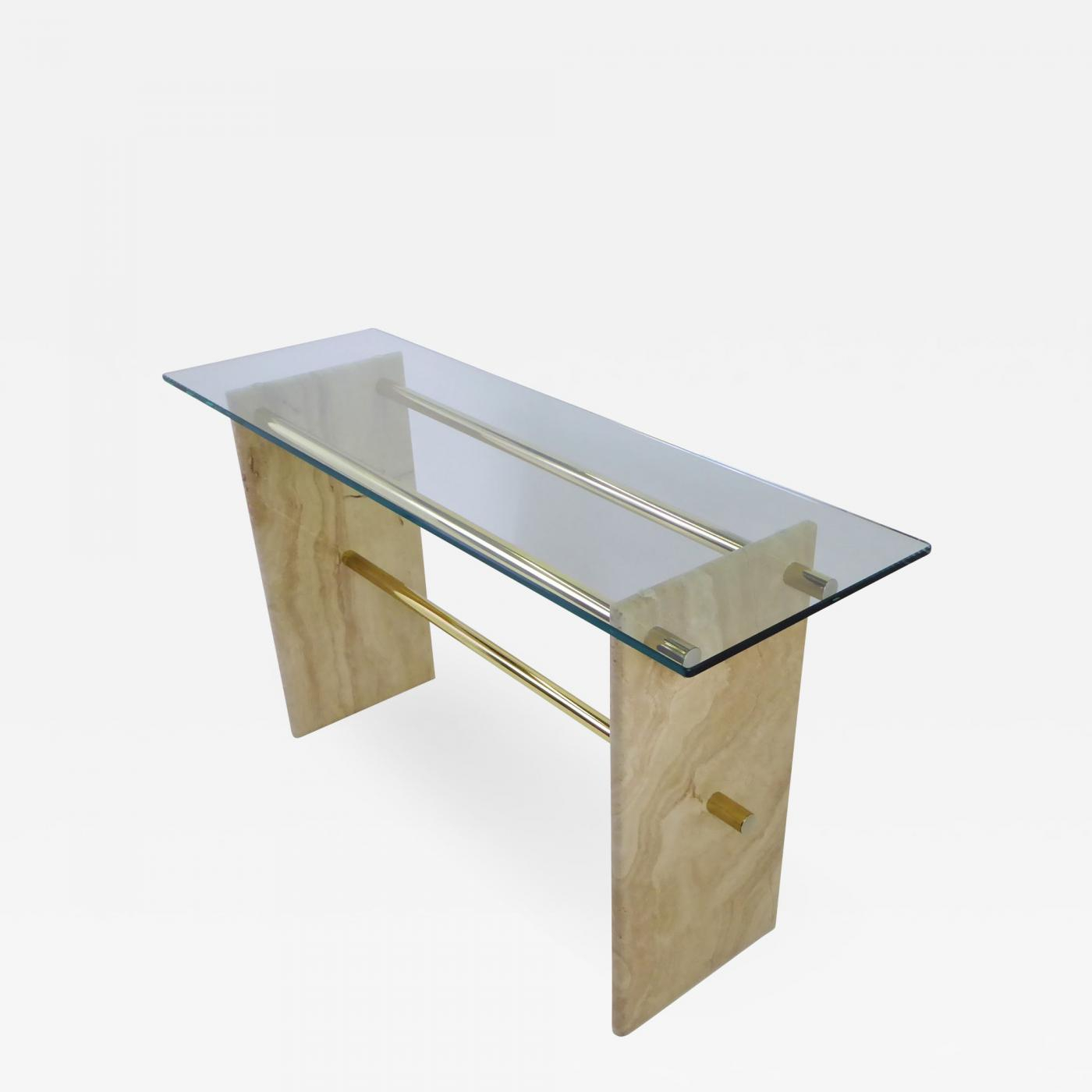 Travertine Sofa Table – Home And Textiles intended for Parsons Travertine Top & Stainless Steel Base 48X16 Console Tables (Image 29 of 30)
