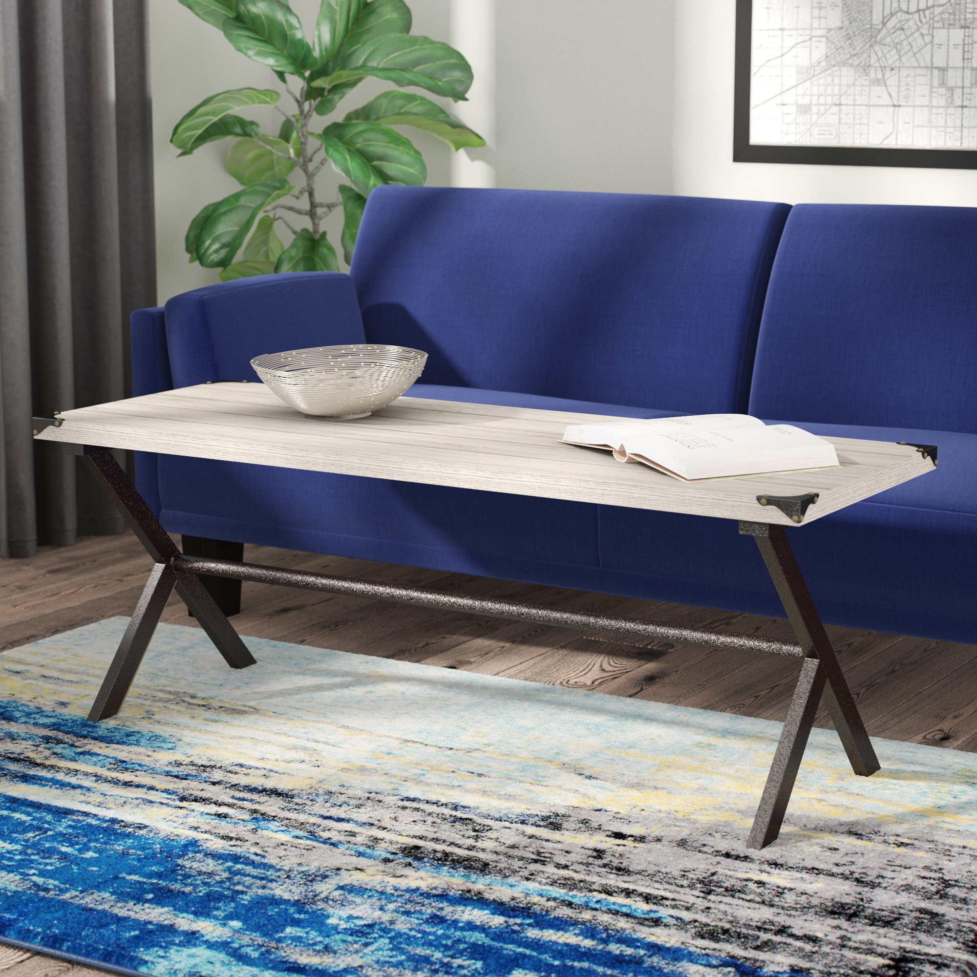 Trent Austin Design Kyra Coffee Table & Reviews | Wayfair In Kyra Console Tables (View 16 of 30)