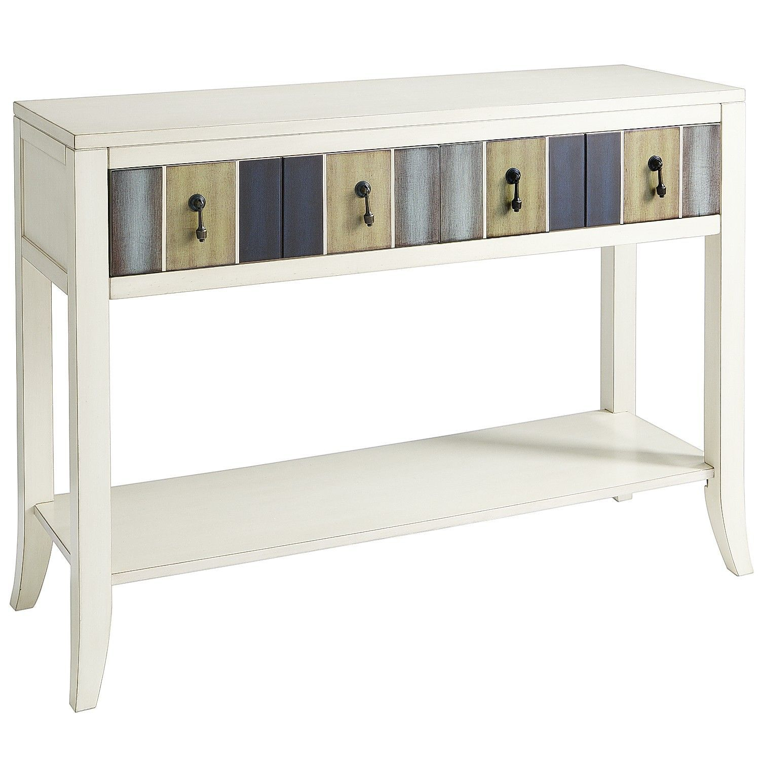 Truett Console Table   Console Tables   Pinterest   Console Tables Regarding Parsons Grey Solid Surface Top & Dark Steel Base 48x16 Console Tables (View 10 of 30)