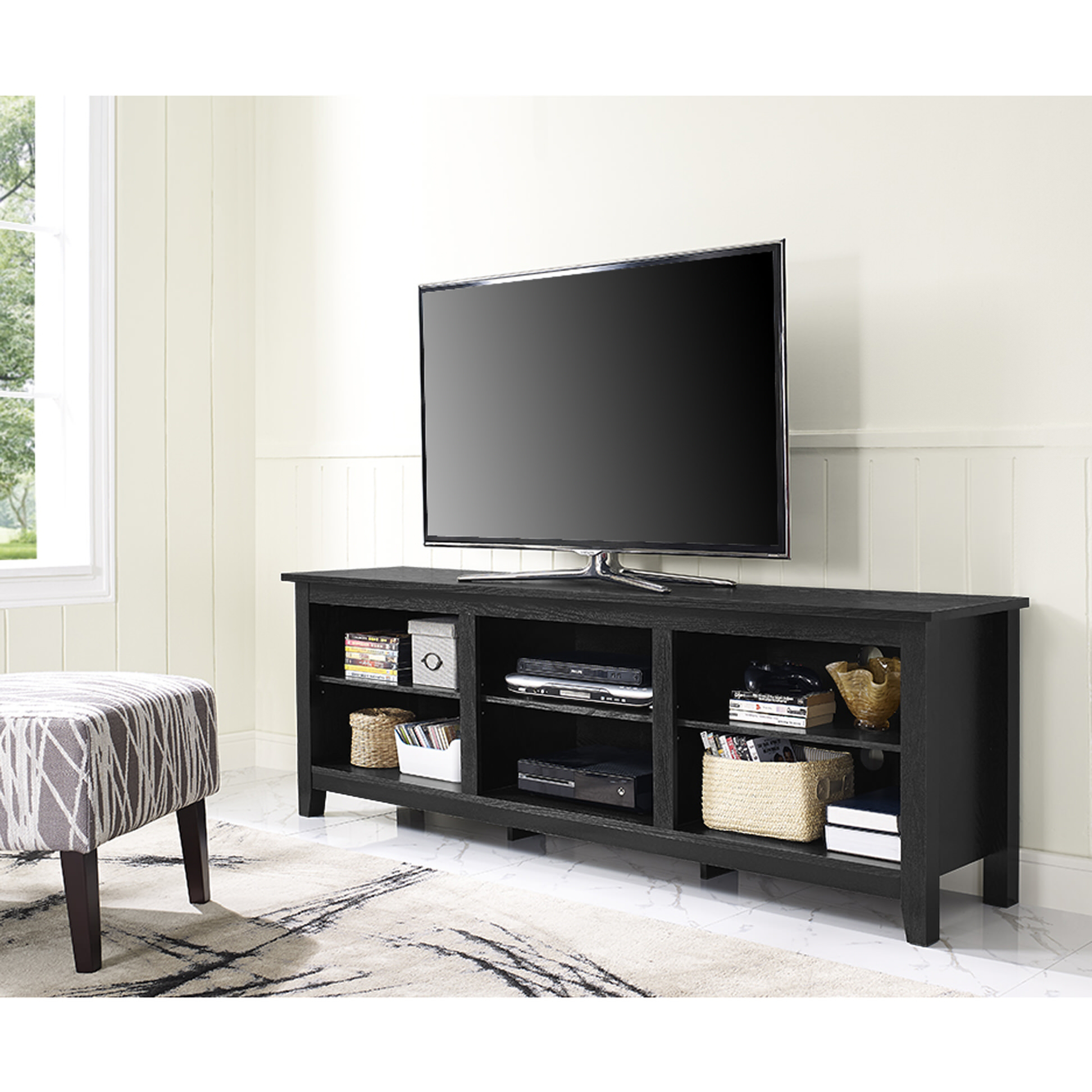 Tv Stand For 70 Inch Tv #876679732 — Selfpub For Annabelle Cream 70 Inch Tv Stands (View 22 of 30)