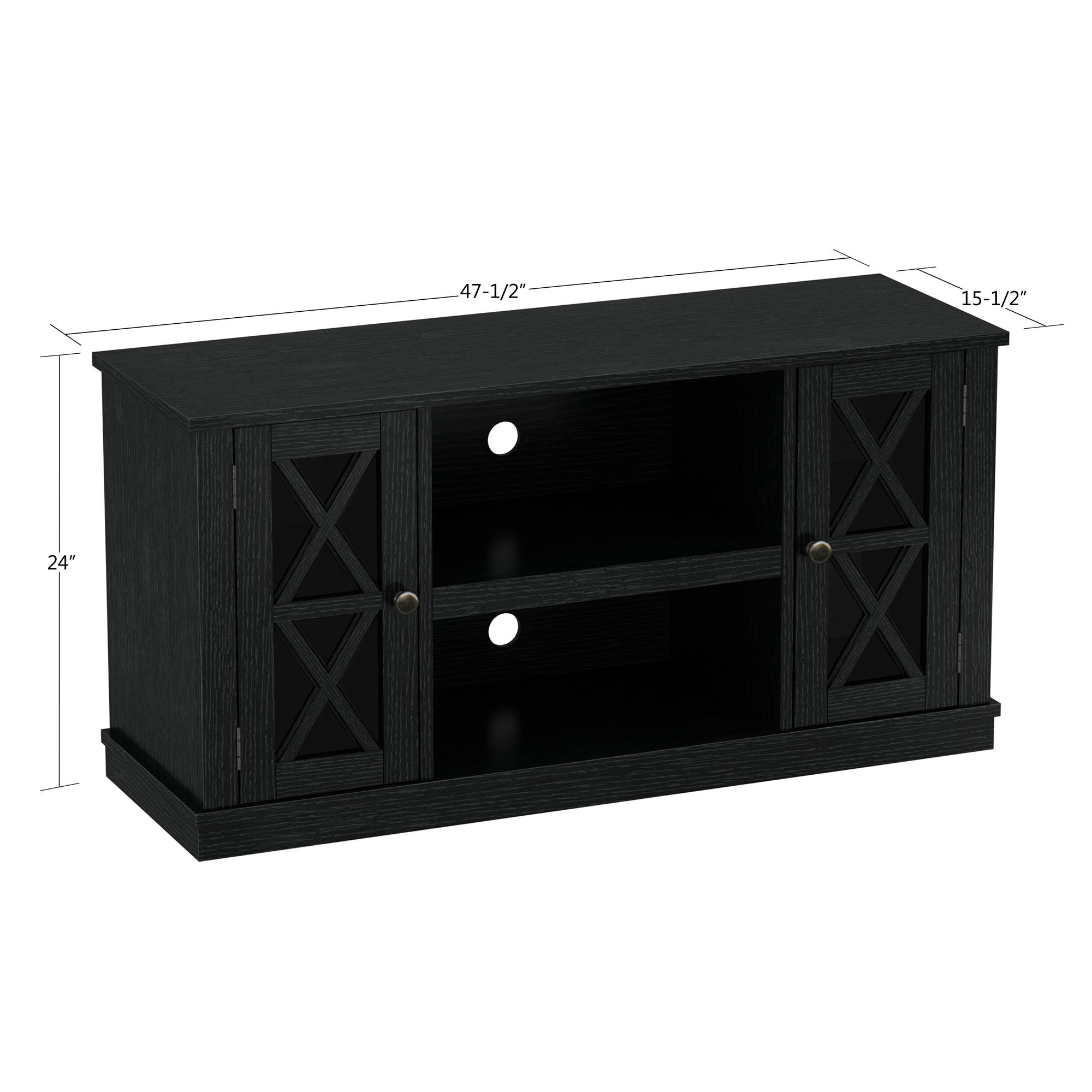 Tv Stands | Joss & Main in Annabelle Black 70 Inch Tv Stands (Image 27 of 30)