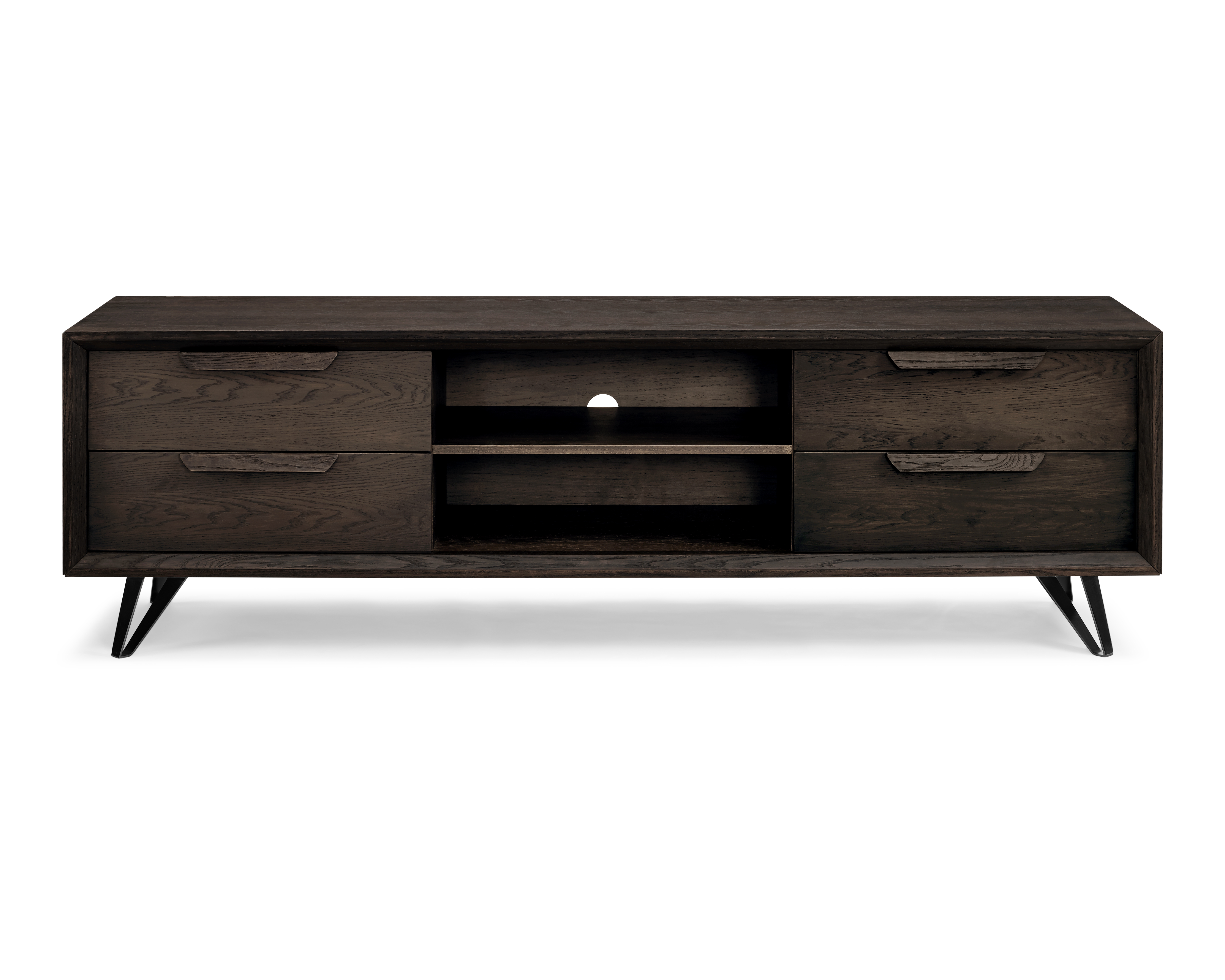Tv Stands Tv Consoles – Furniture Plus For Raven Grey Tv Stands (View 4 of 30)