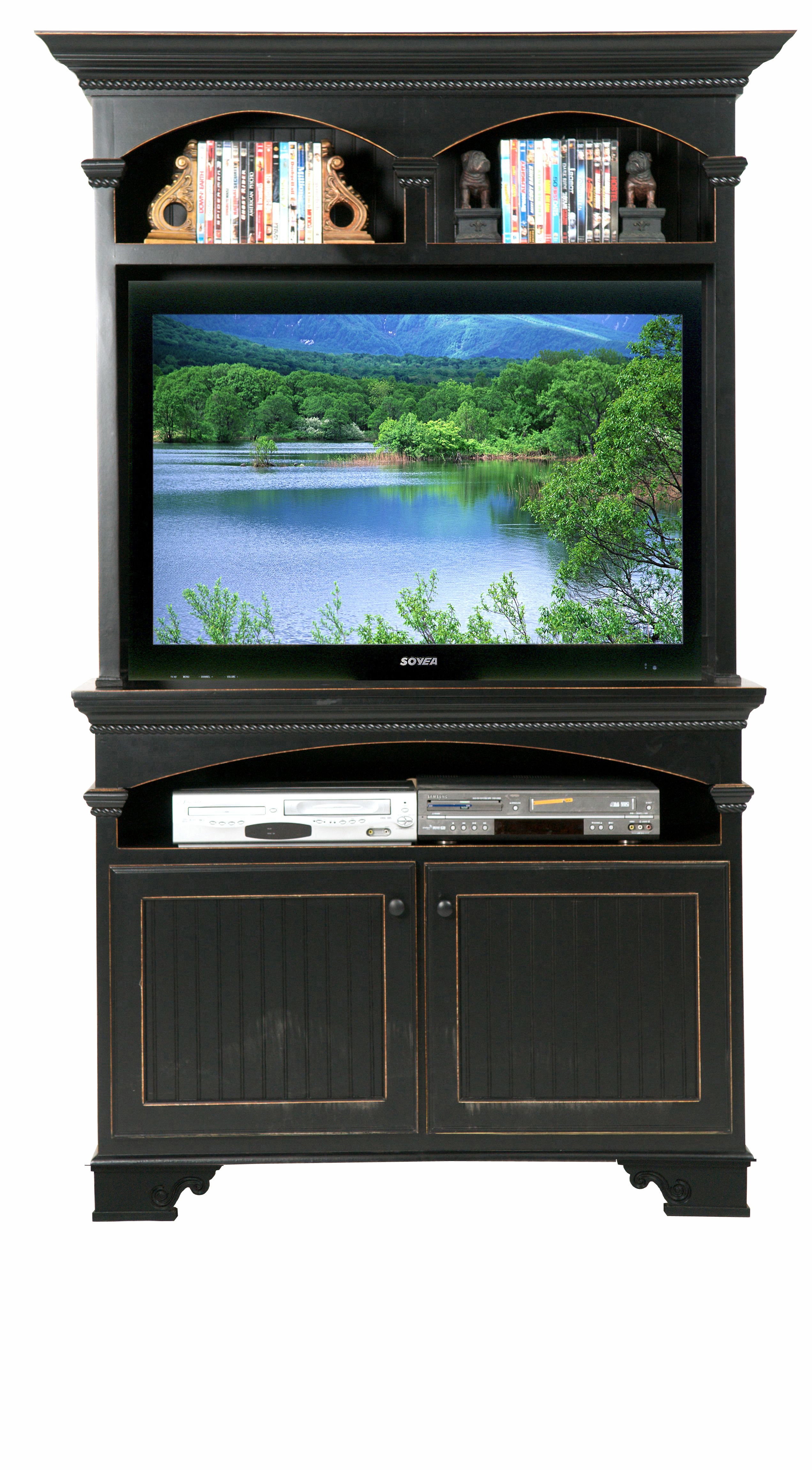 Tv Stands With Hutch You'll Love   Wayfair For Kilian Grey 60 Inch Tv Stands (View 9 of 30)
