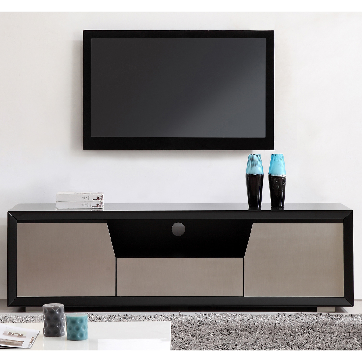 Tv Television Stands 71 & Wider in Valencia 70 Inch Tv Stands (Image 19 of 30)