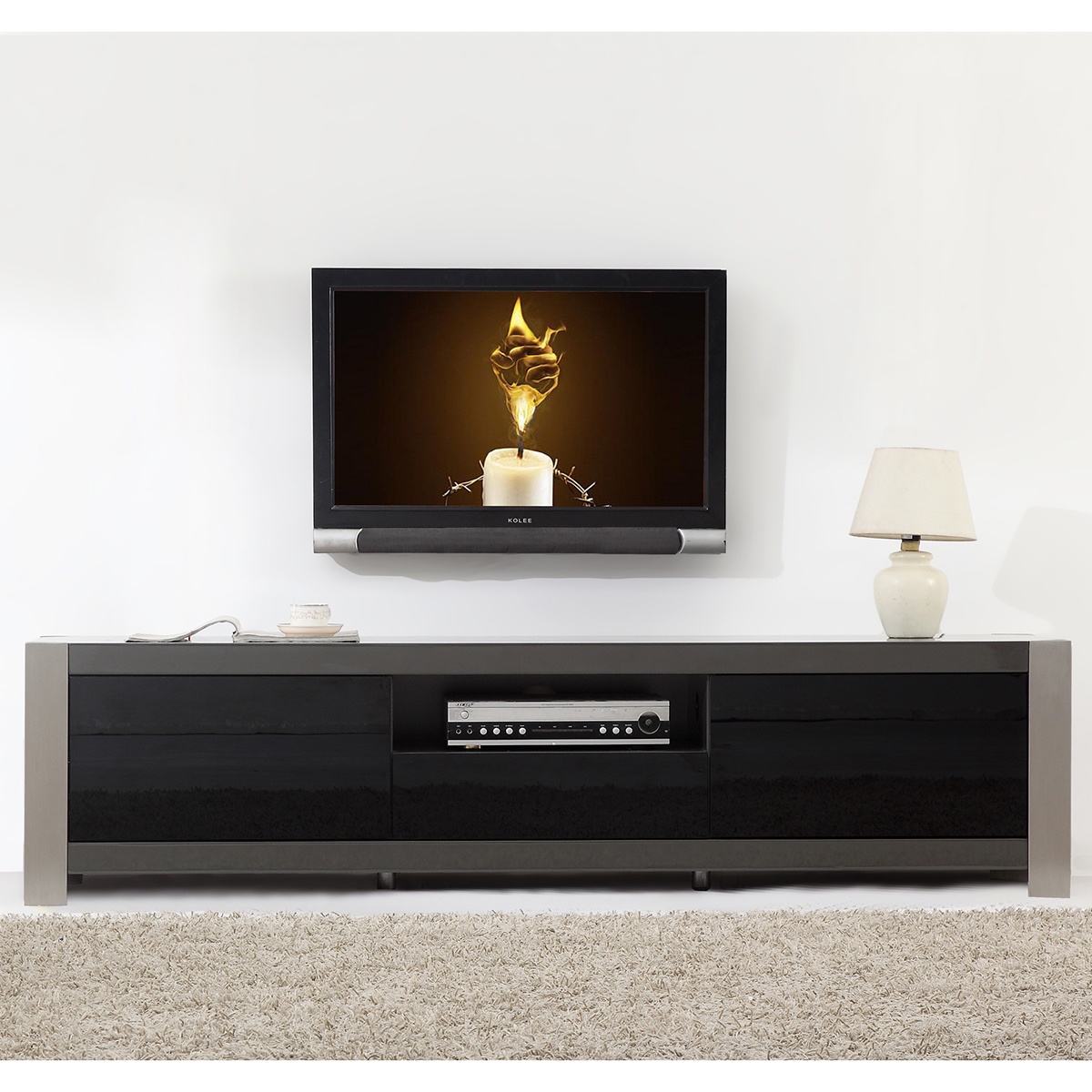Tv Television Stands 71 & Wider Regarding Noah 75 Inch Tv Stands (View 6 of 30)