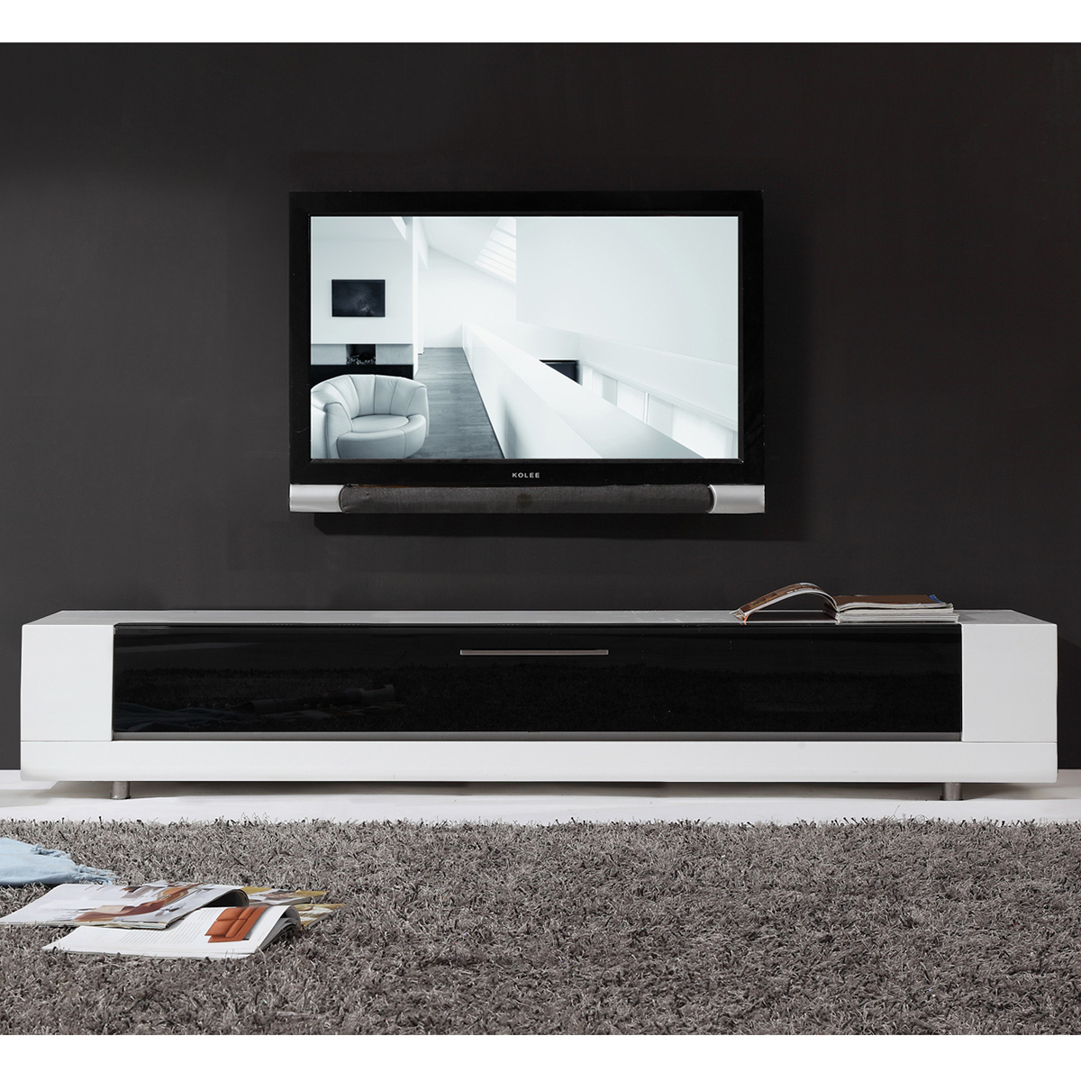 Tv Television Stands 71 & Wider Within Noah 75 Inch Tv Stands (View 7 of 30)