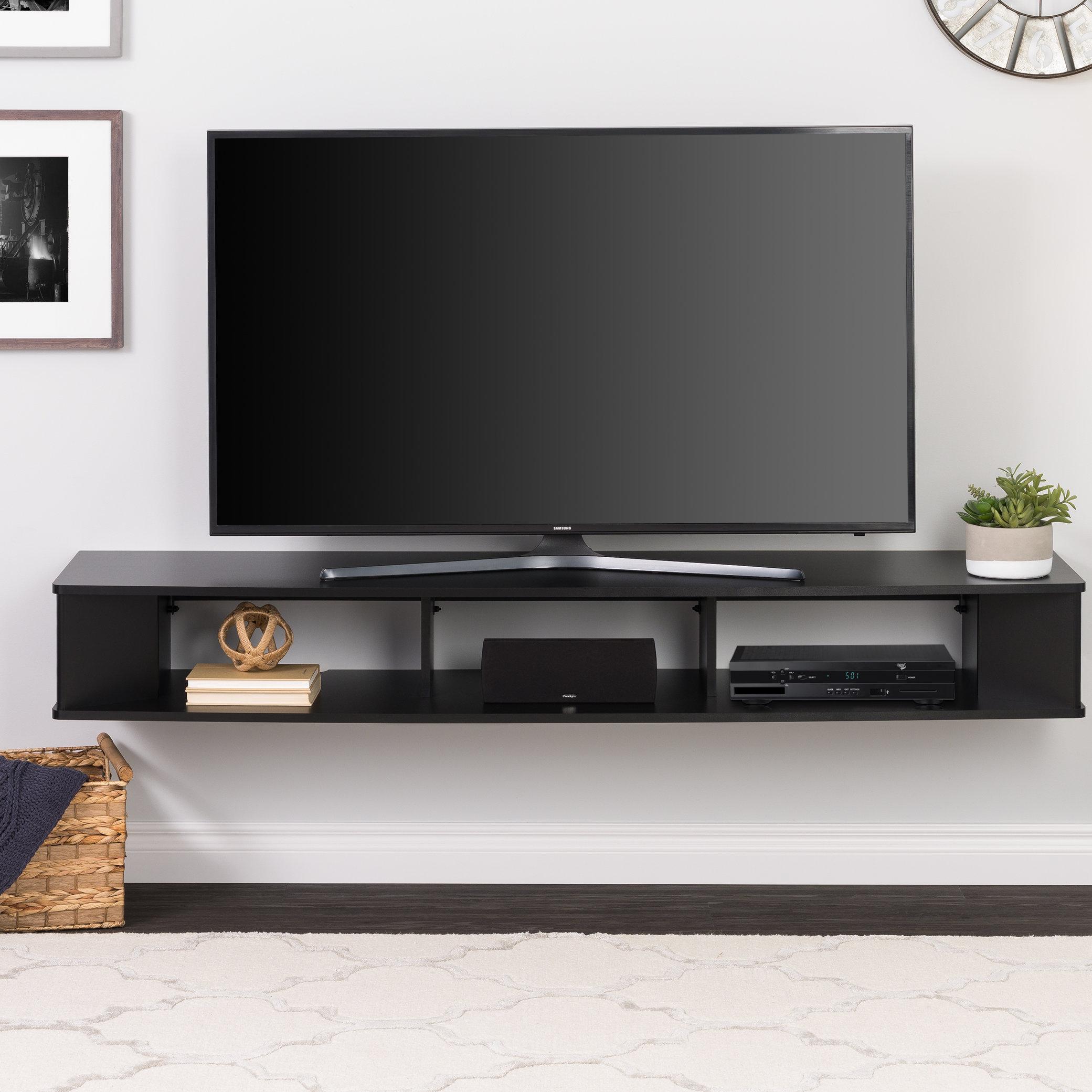 Tv Wall Mount Cabinet | Wayfair Inside Willa 80 Inch Tv Stands (View 16 of 30)